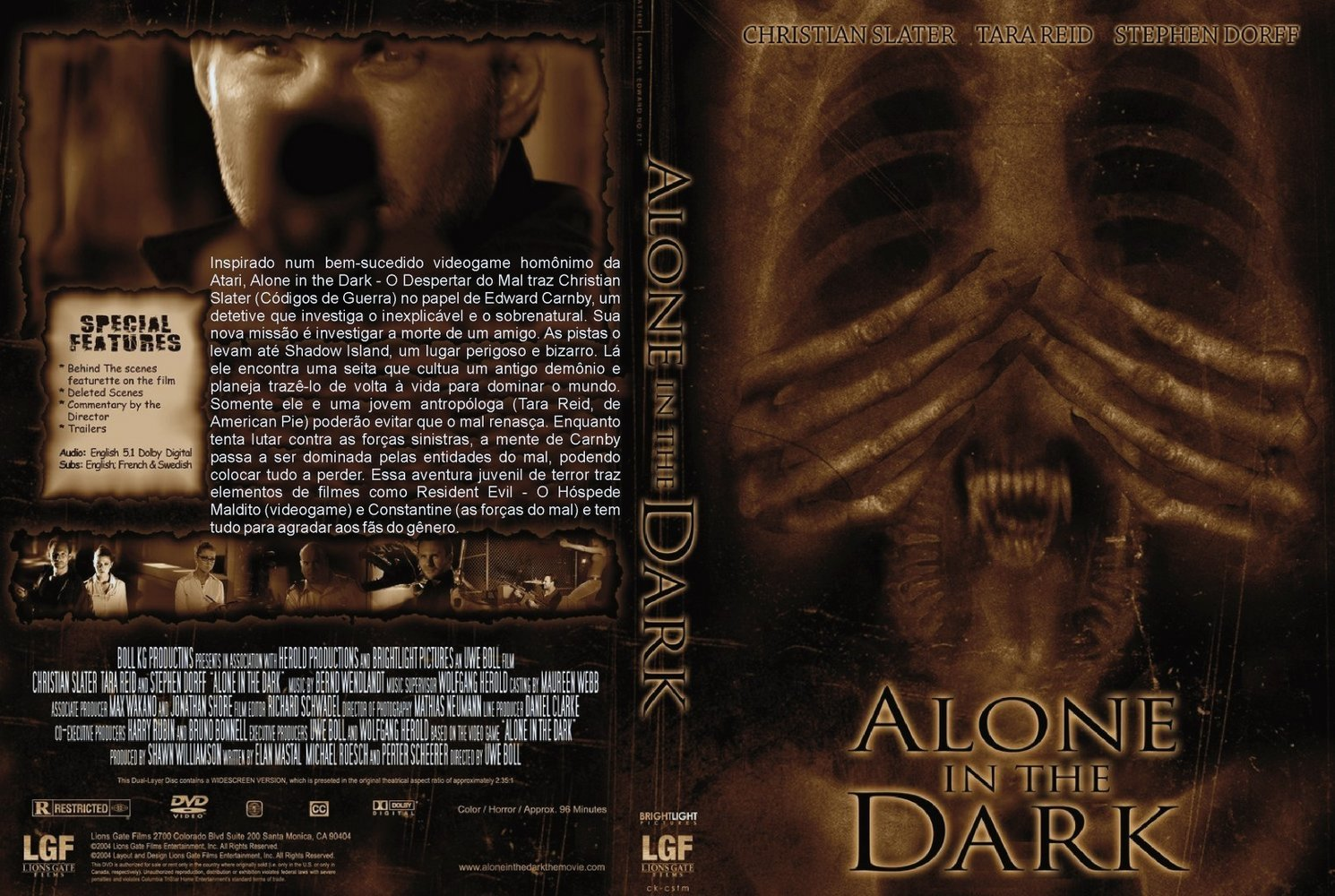 Covers Box Sk Alone In The Dark High Quality Dvd Blueray Movie