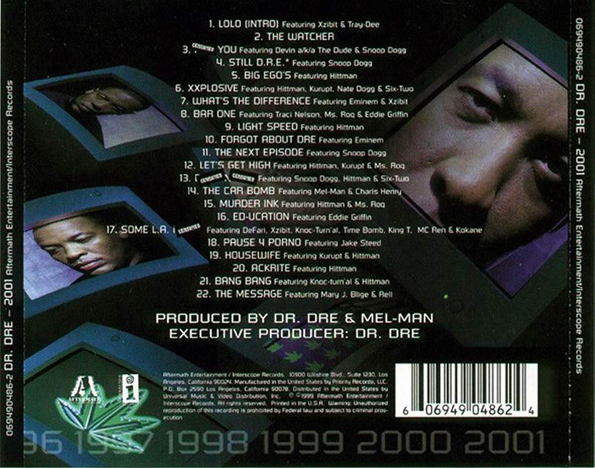 dr dre 2001 download
