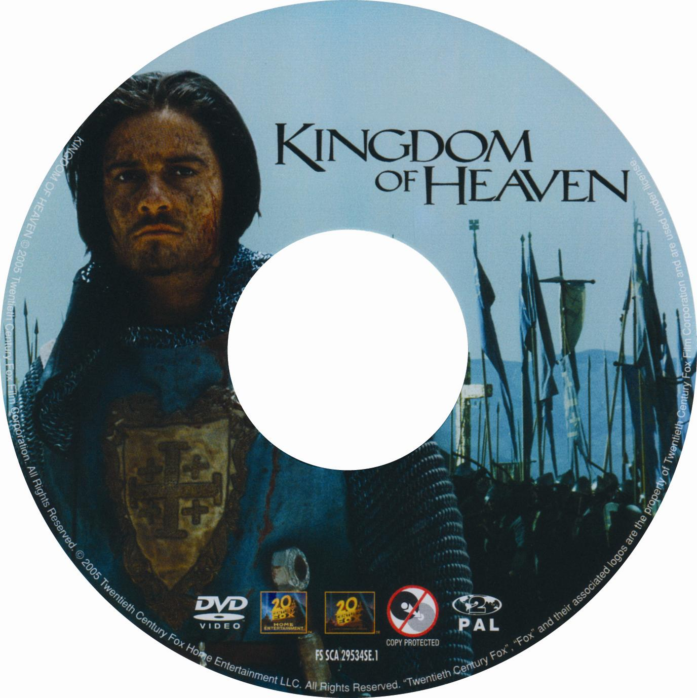 This is an image of Impertinent Kingdom of Heaven Dvd Label