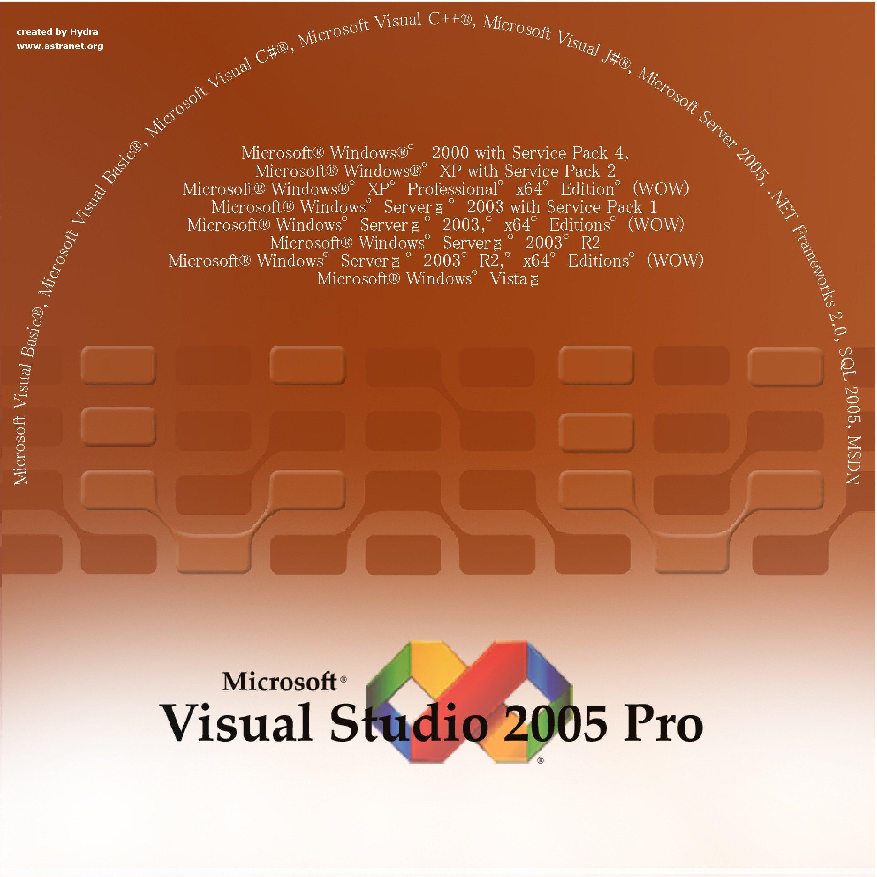 vs2005 professional download