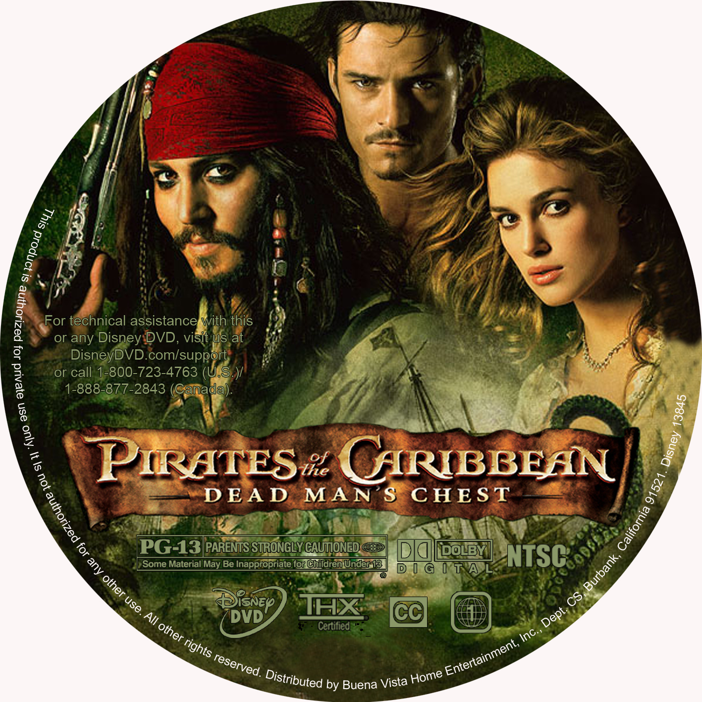 COVERS BOX SK ::: Pirates of the Caribbean 2 :Dead Man's