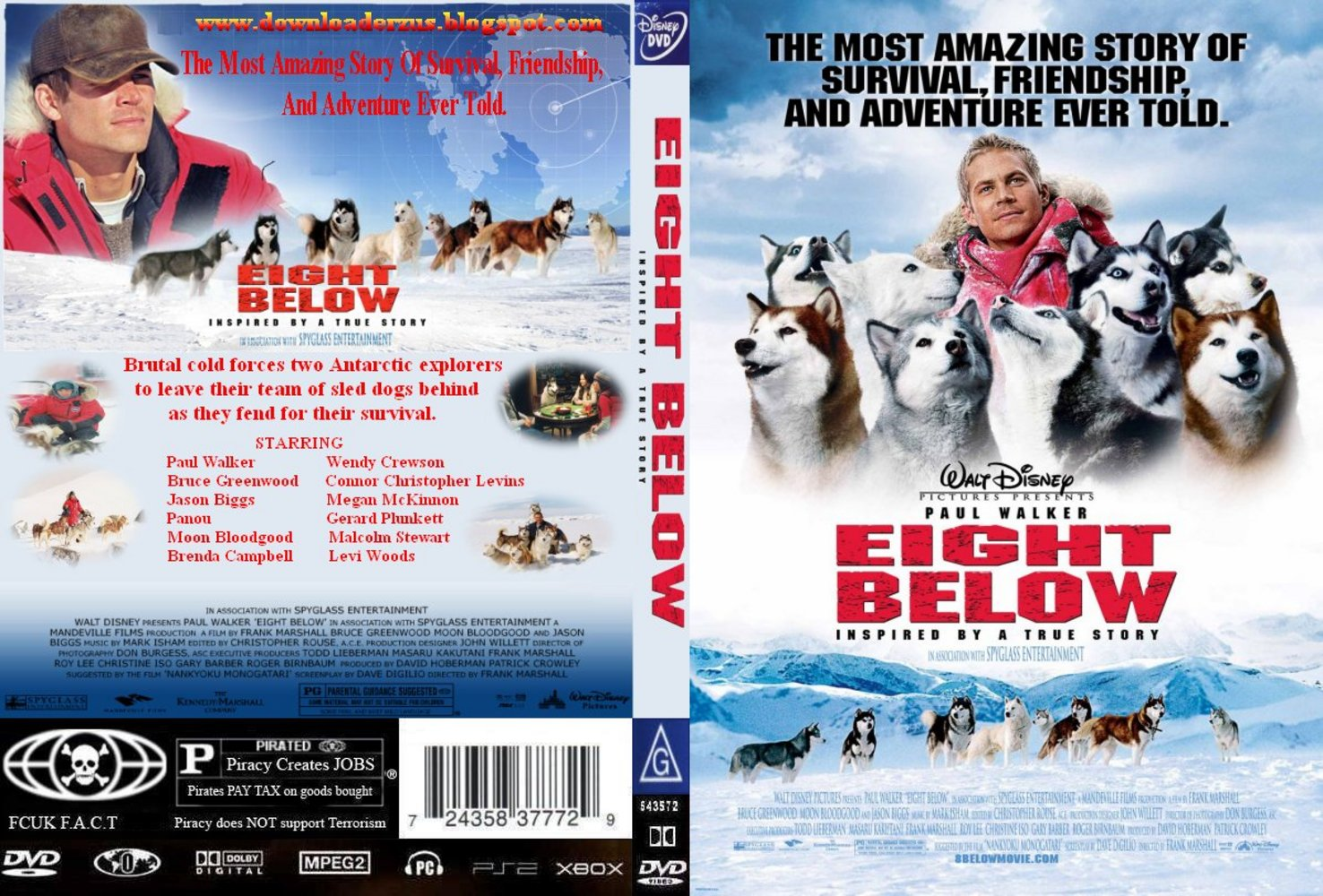 Eight Below 2006 Front Back
