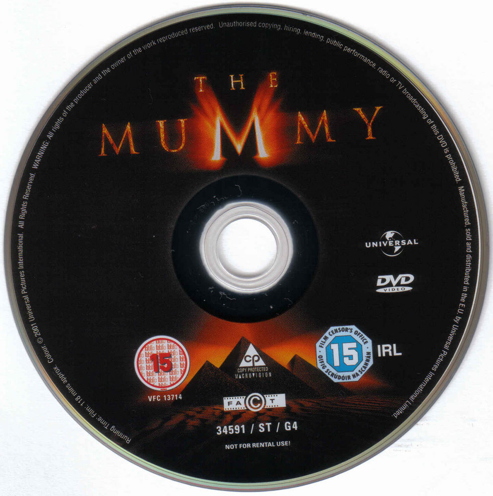 The Mummy Blu Ray Disc Cover Id27983 Covers Hut | Dog Breeds Picture