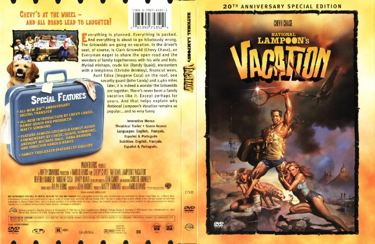 Covers Box Sk National Lampoons Vacation High