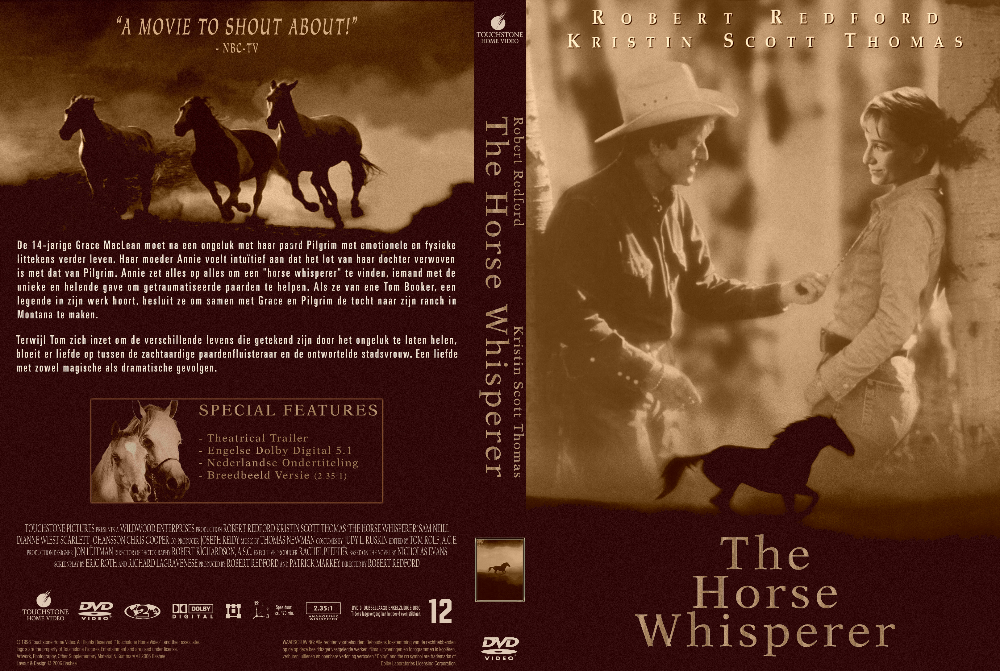 Covers Box Sk Horse Whisperer The 1998 High Quality Dvd Blueray Movie