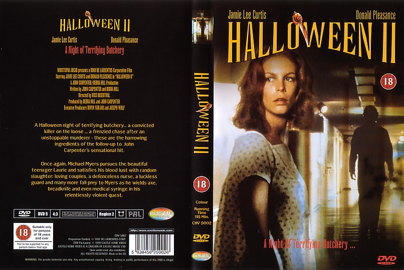 COVERS.BOX.SK ::: Halloween 2 - high quality DVD / Blueray / Movie