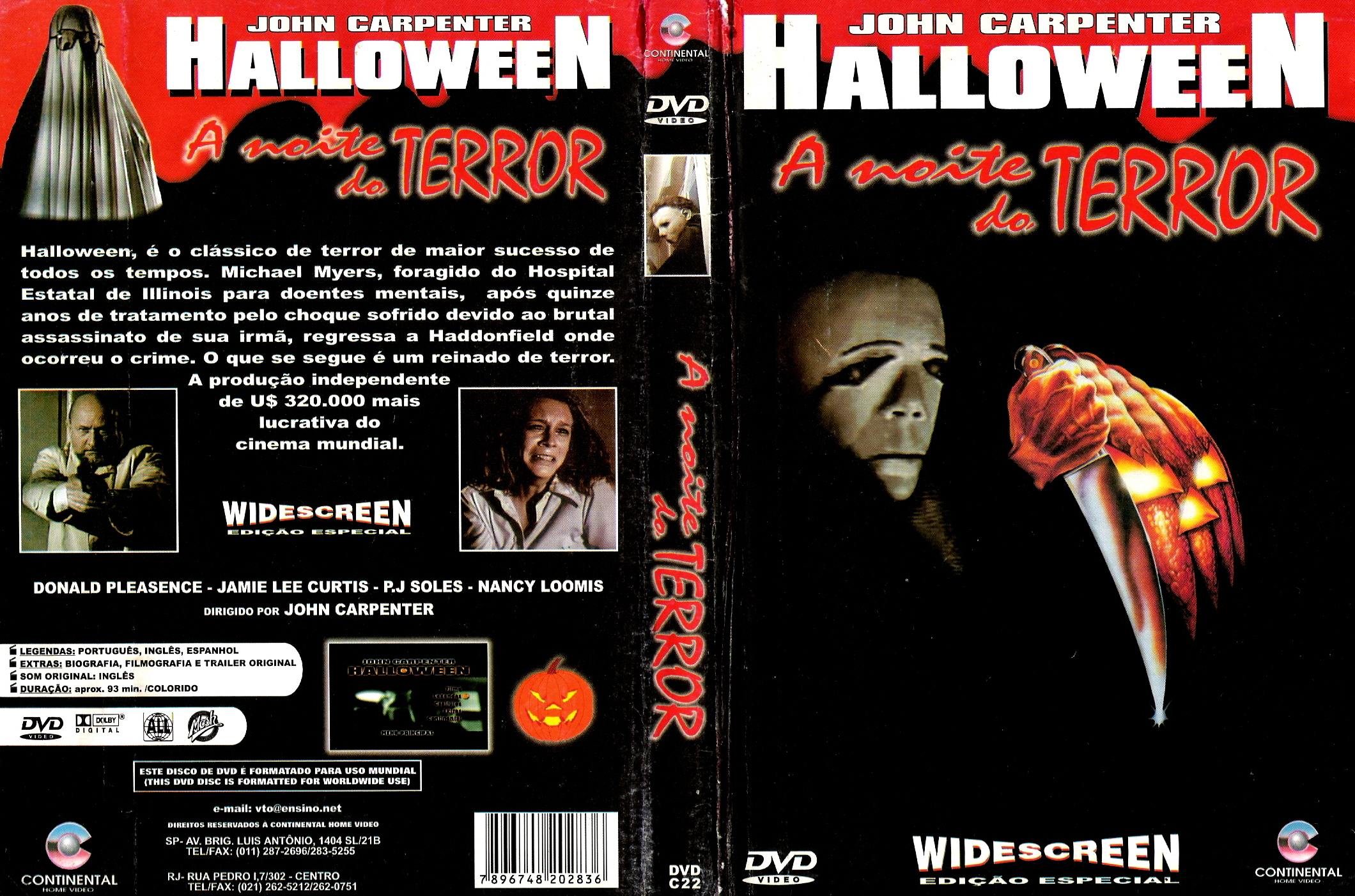 COVERS.BOX.SK ::: Halloween (1978) - high quality DVD / Blueray ...