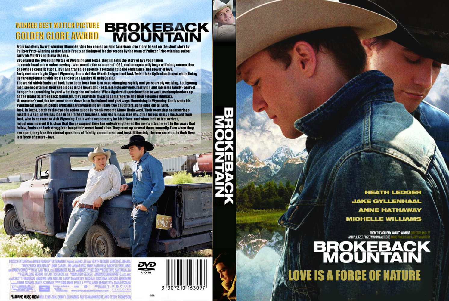 Covers Box Sk Brokeback Mountain 2005 High Quality Dvd Blueray Movie