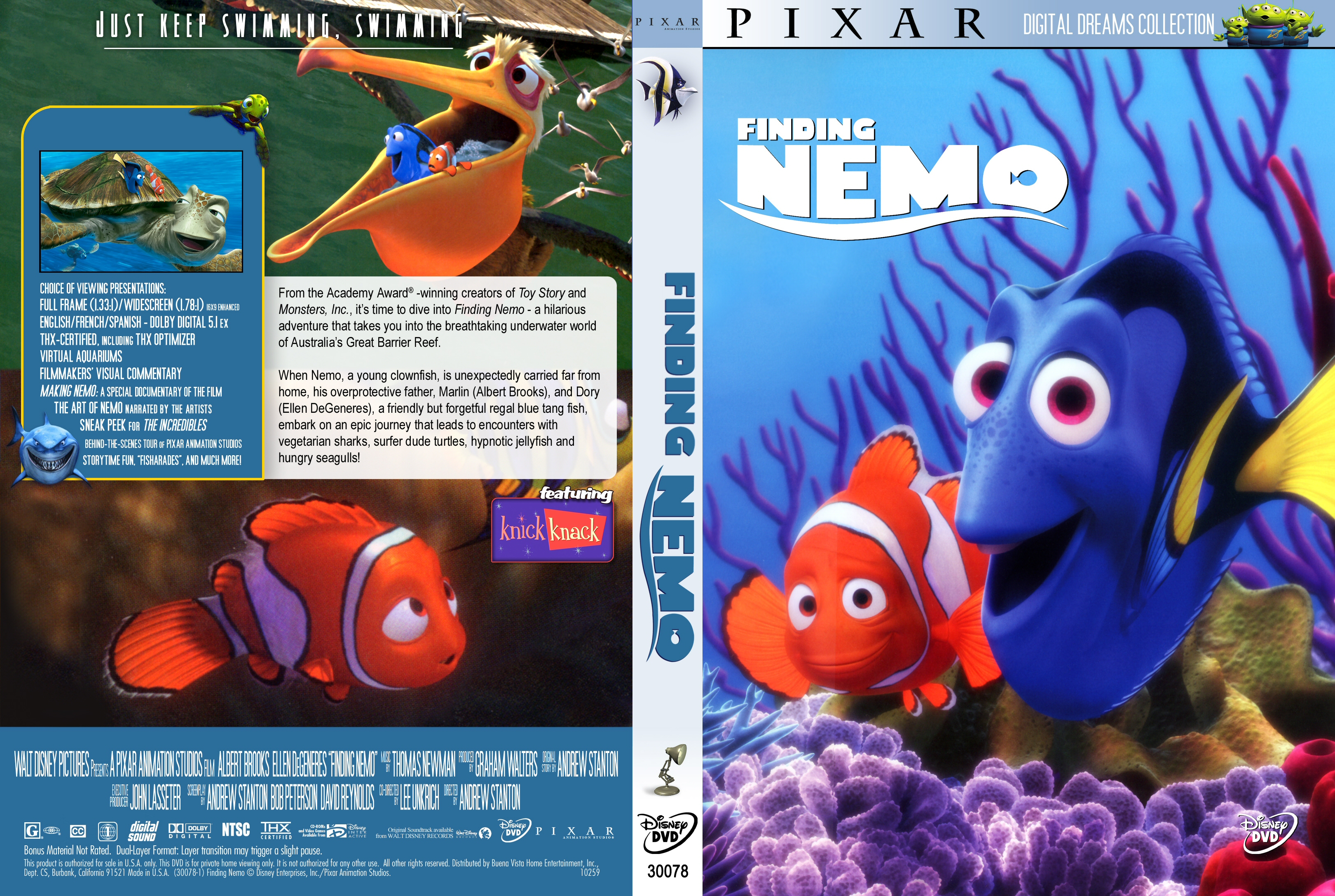 coversboxsk finding nemo 2003 high quality dvd