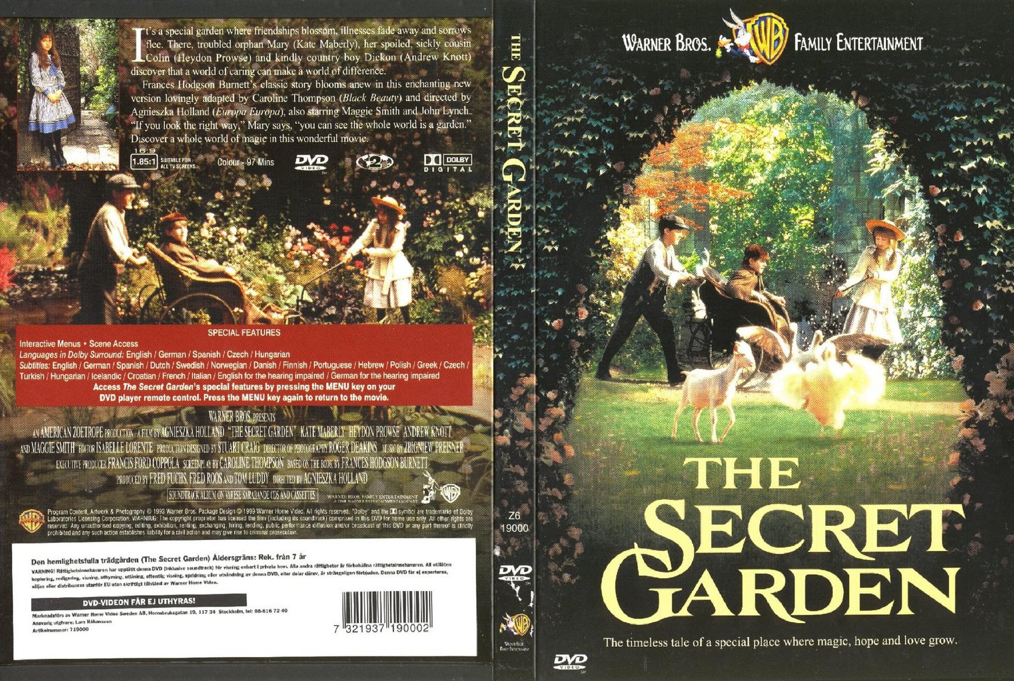 Coversx Secret Garden The 1976 High Quality Dvd