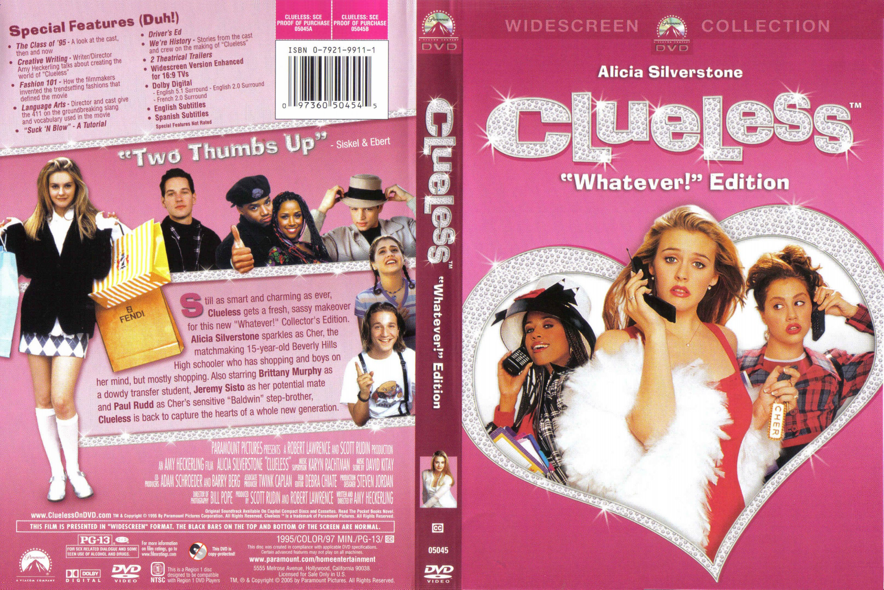 COVERS BOX SK ::: Clueless (1995) - high quality DVD
