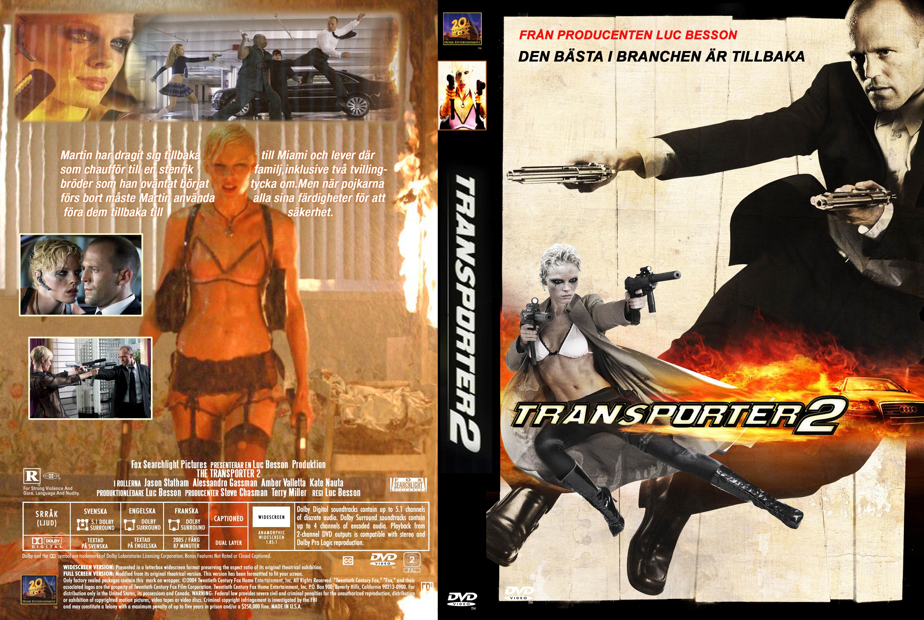 Transporter 2 - Movie DVD Custom Covers - Transporter 2 ... |Transporter 2 Dvd Cover