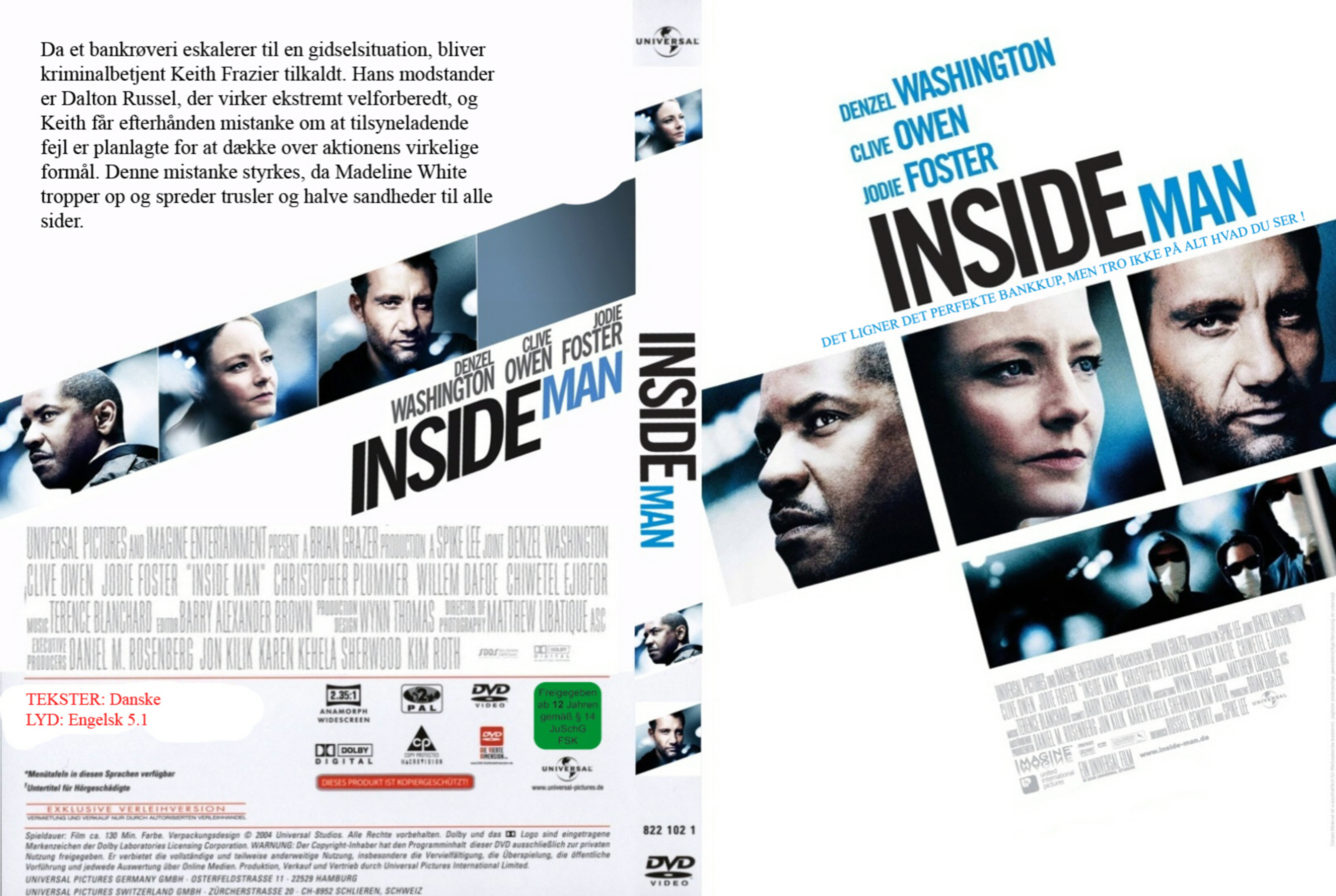 Inside man movie explanation