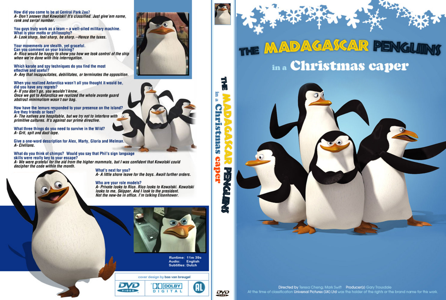 the madagascar penguins in a christmas caper learntoride co