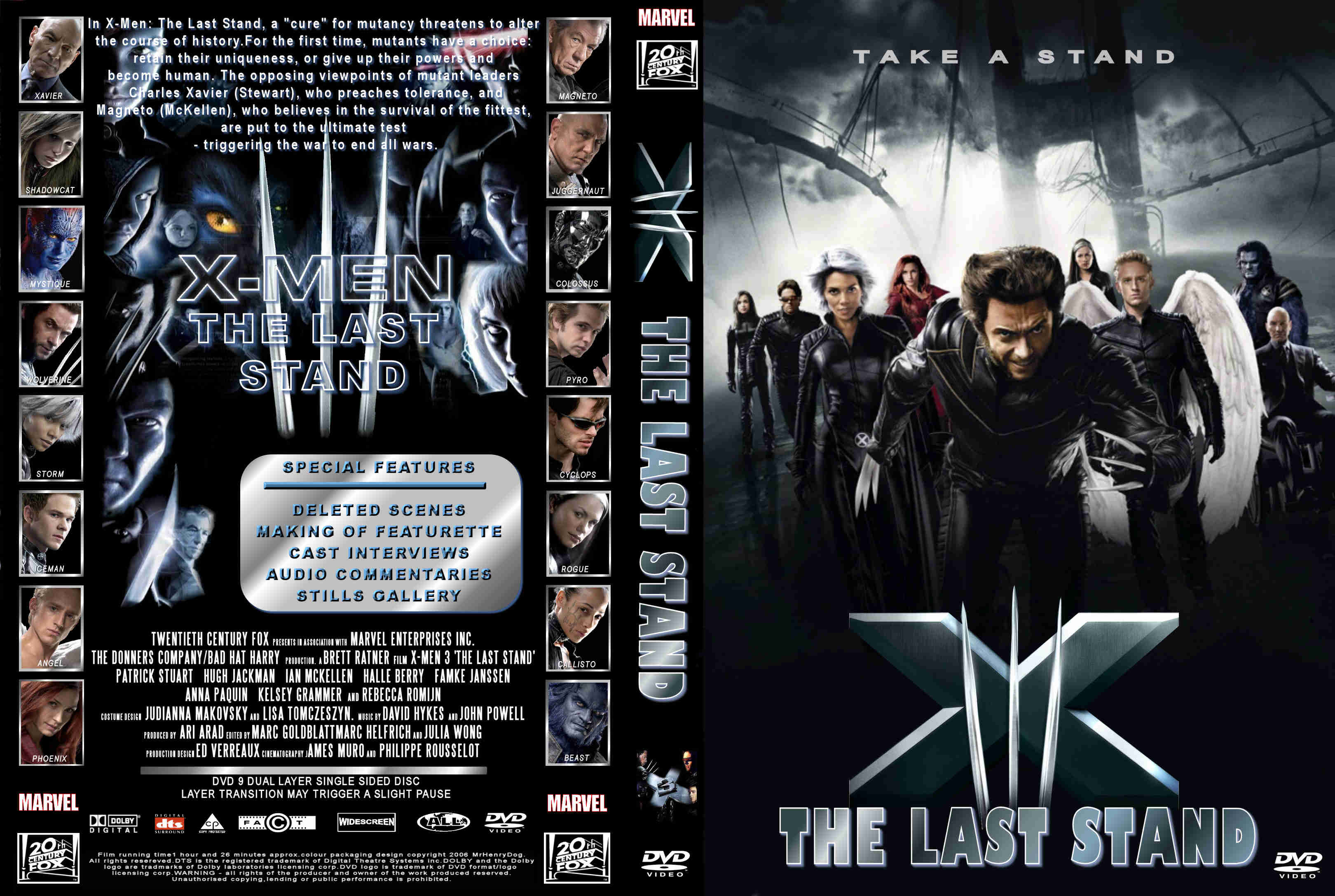 X Men Dvd Cover: COVERS.BOX.SK ::: X Men 3 Uk Dvd Cover
