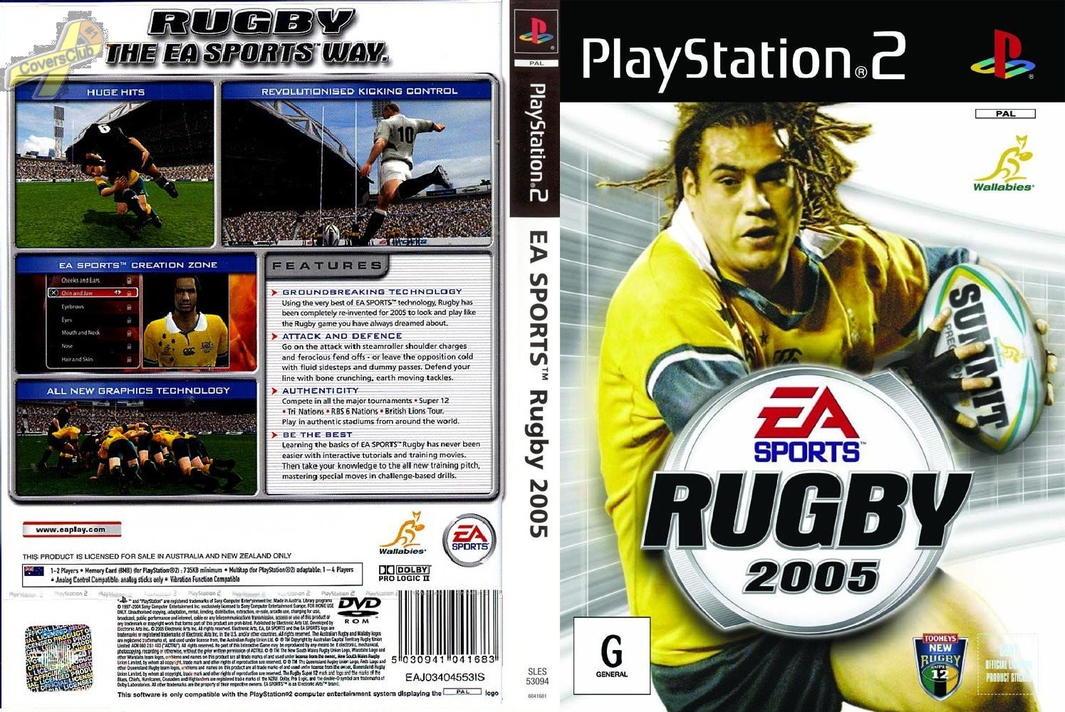 Rugby 2005 Free Download