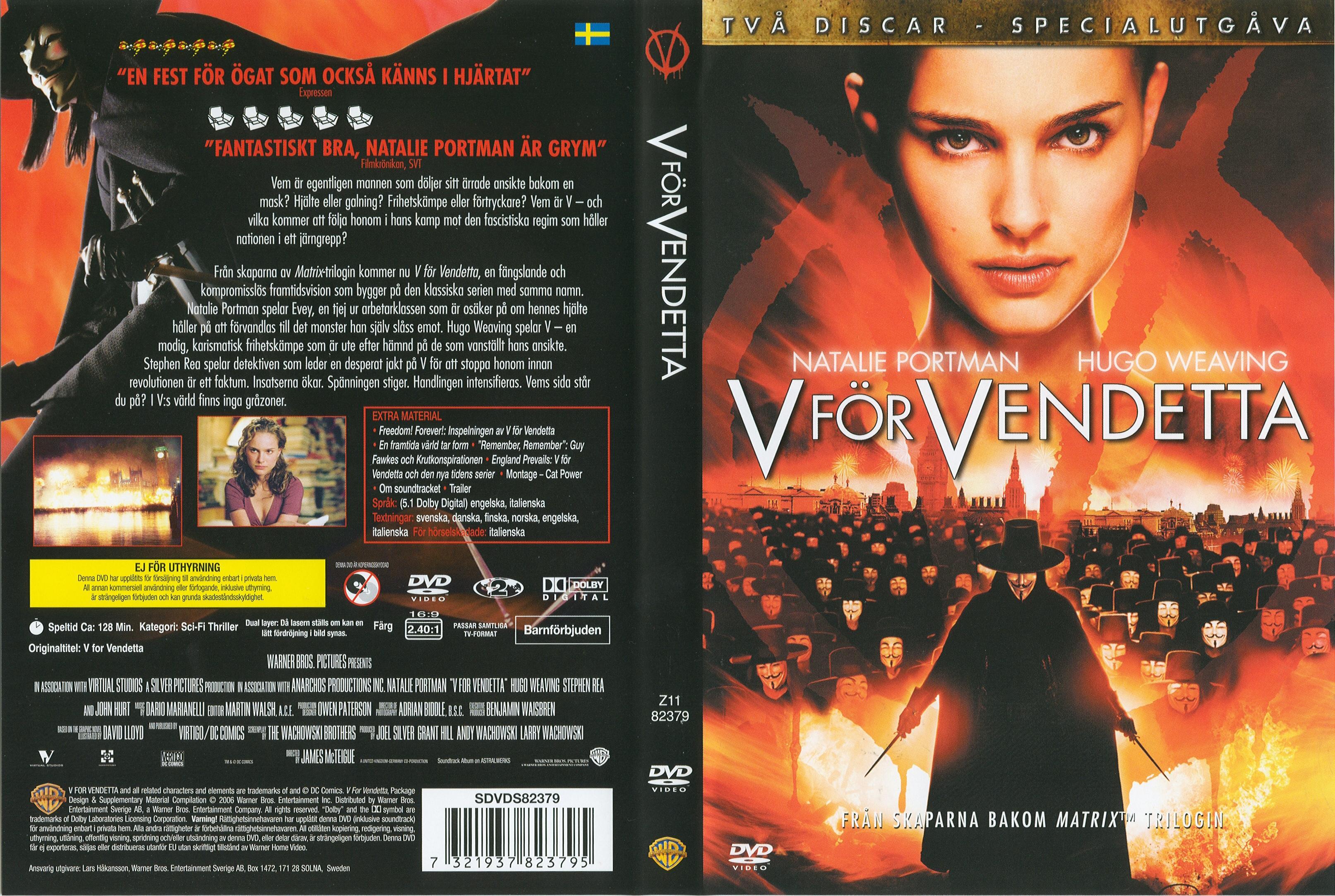 V For Vendetta Movie Cover COVERS.BOX.SK