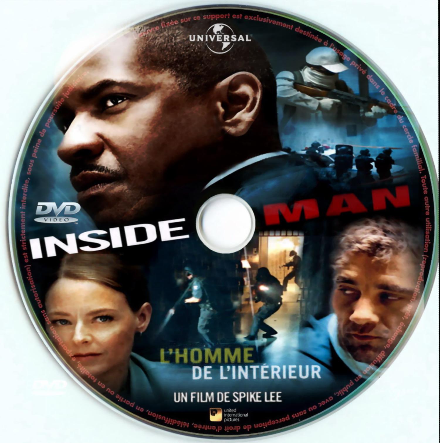 COVERS.BOX.SK ::: INSIDE MAN - high quality DVD / Blueray / Movie