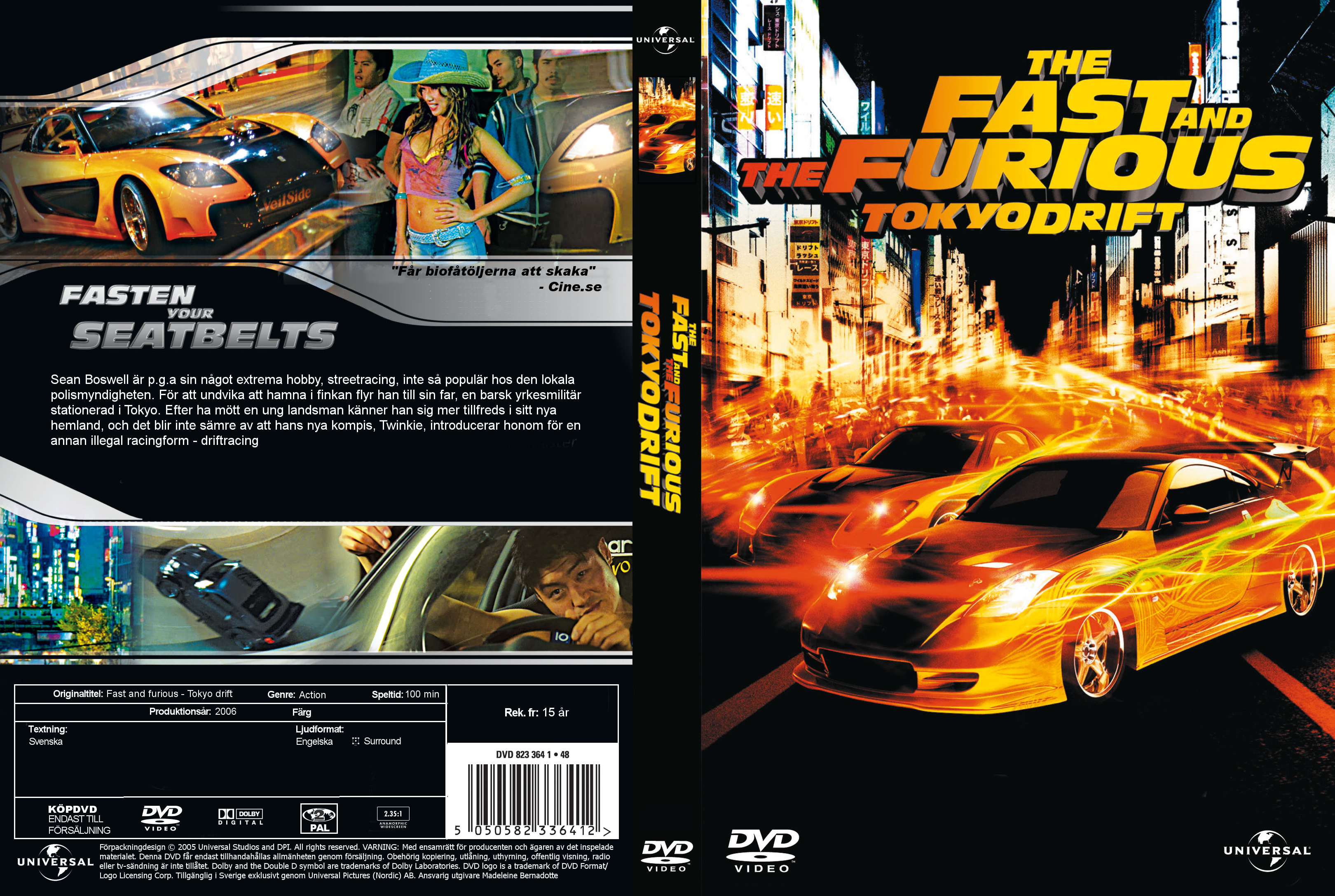 Fast And Furious 3 Full Movie >> Covers Box Sk Fast And The Furious Tokyo Drift 2006 High
