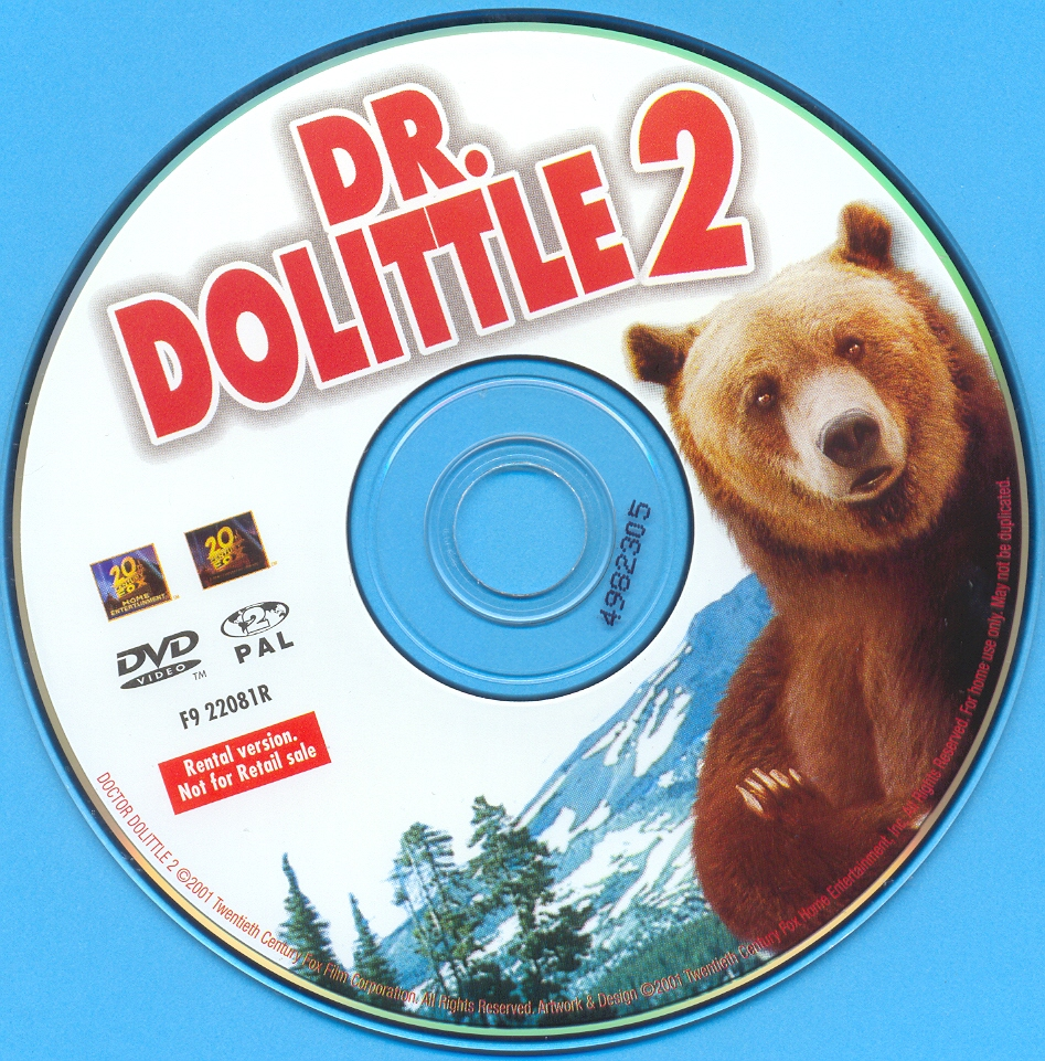 Covers Box Sk Dr Dolittle 2 High Quality Dvd Blueray Movie