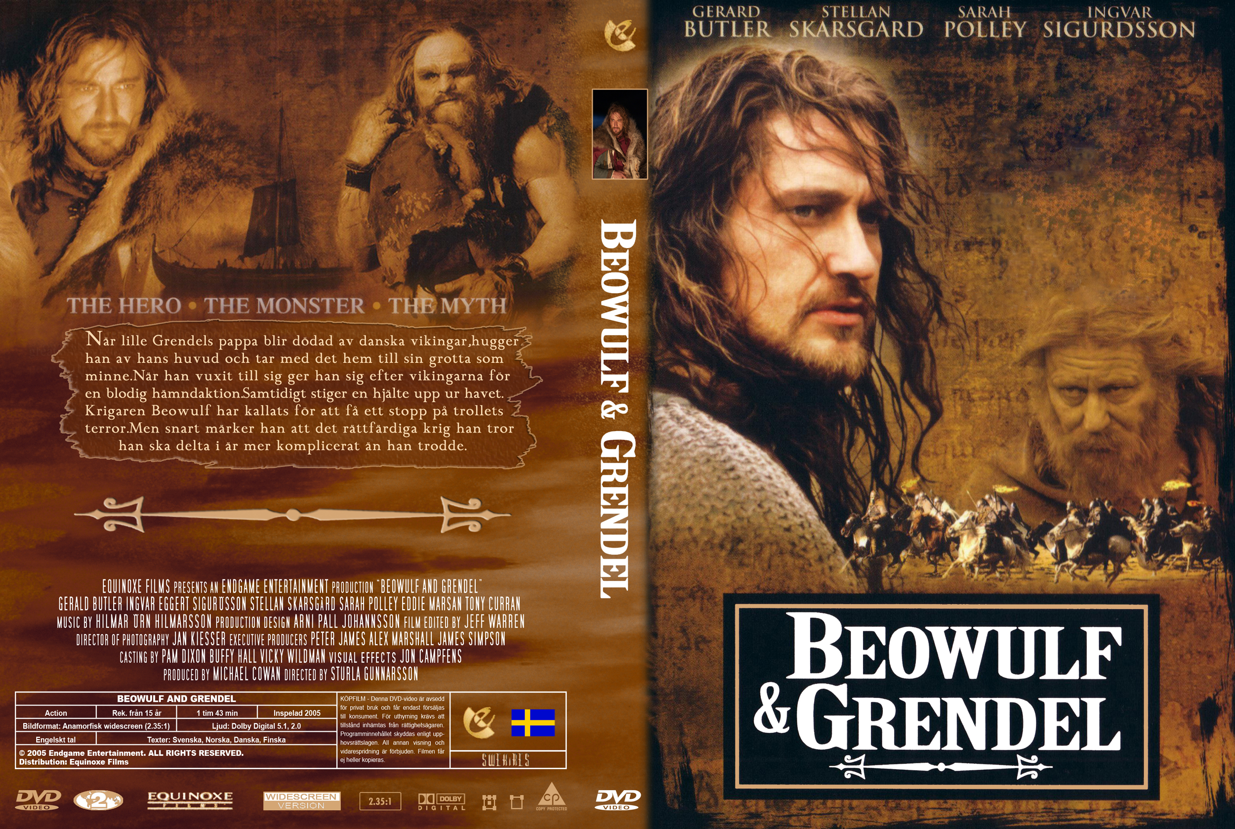Covers box sk beowulf and grendel 2006 high quality dvd blueray movie - Equinoxe film x ...