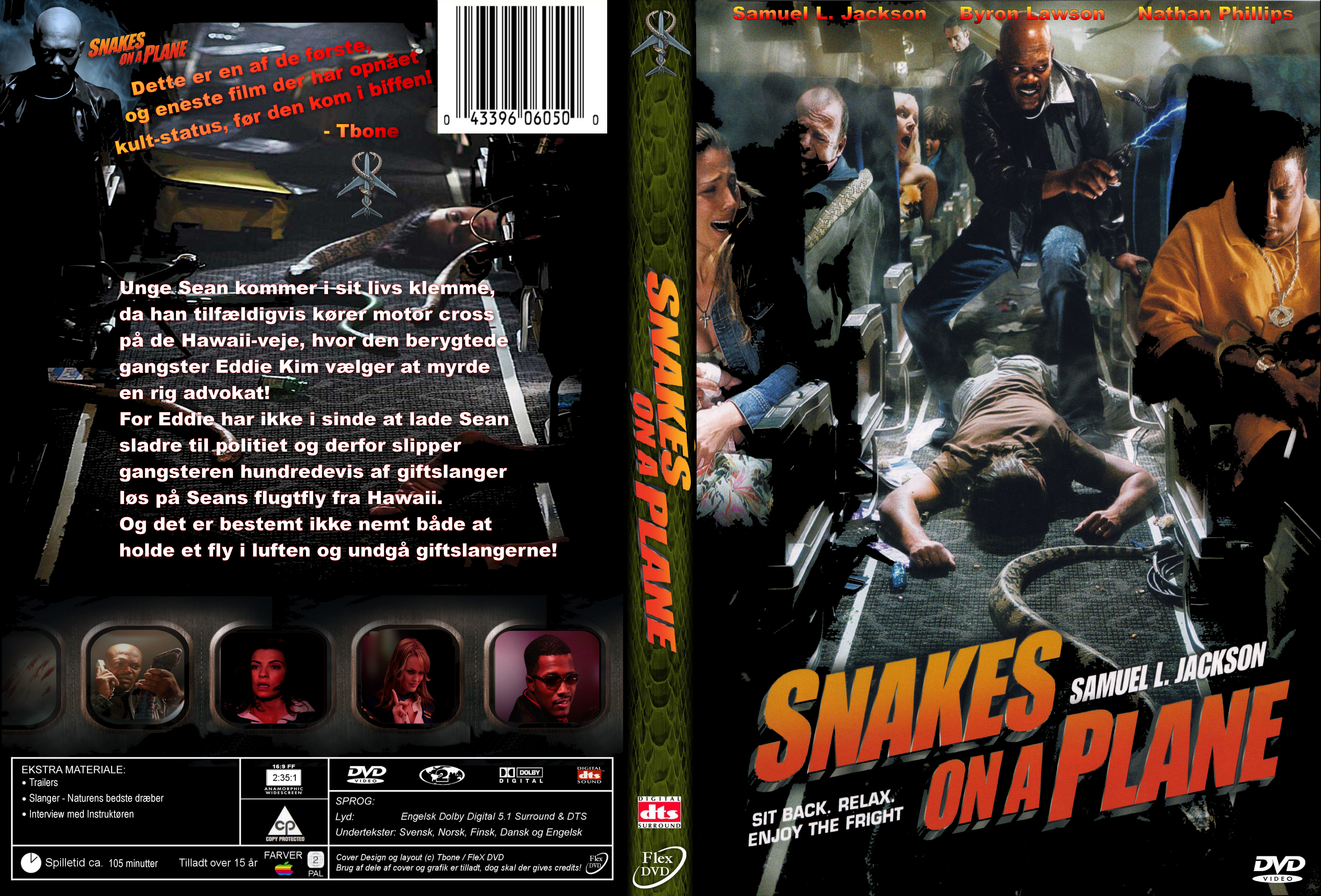 Coversboxsk  Snakes On A Plane 2006 - High Quality Dvd  Blueray -8053