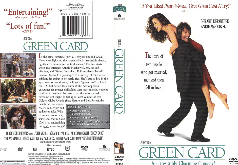 Green Card (1990) Movie