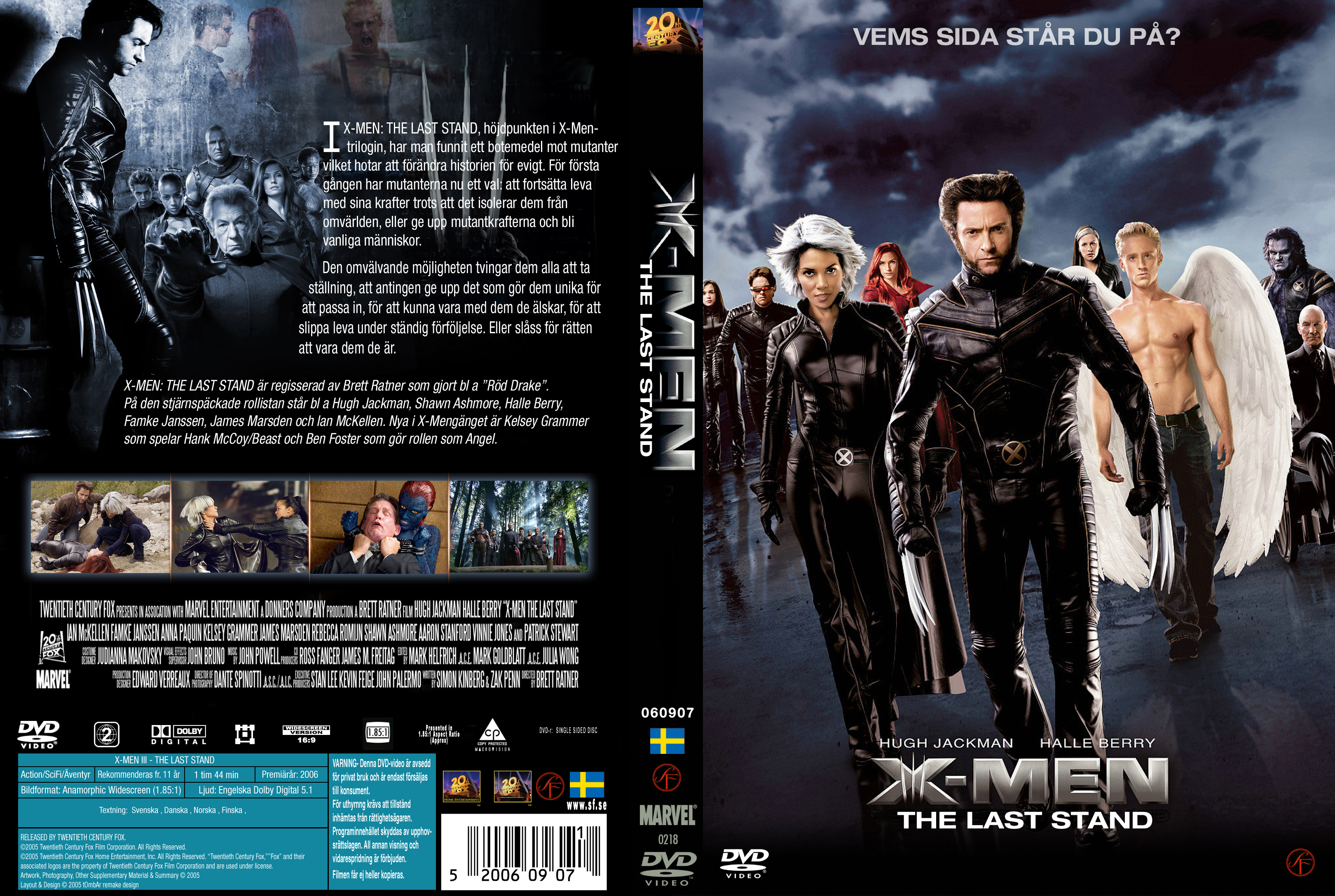 X Men Dvd Cover: COVERS.BOX.SK ::: X-men 3 The Last Stand