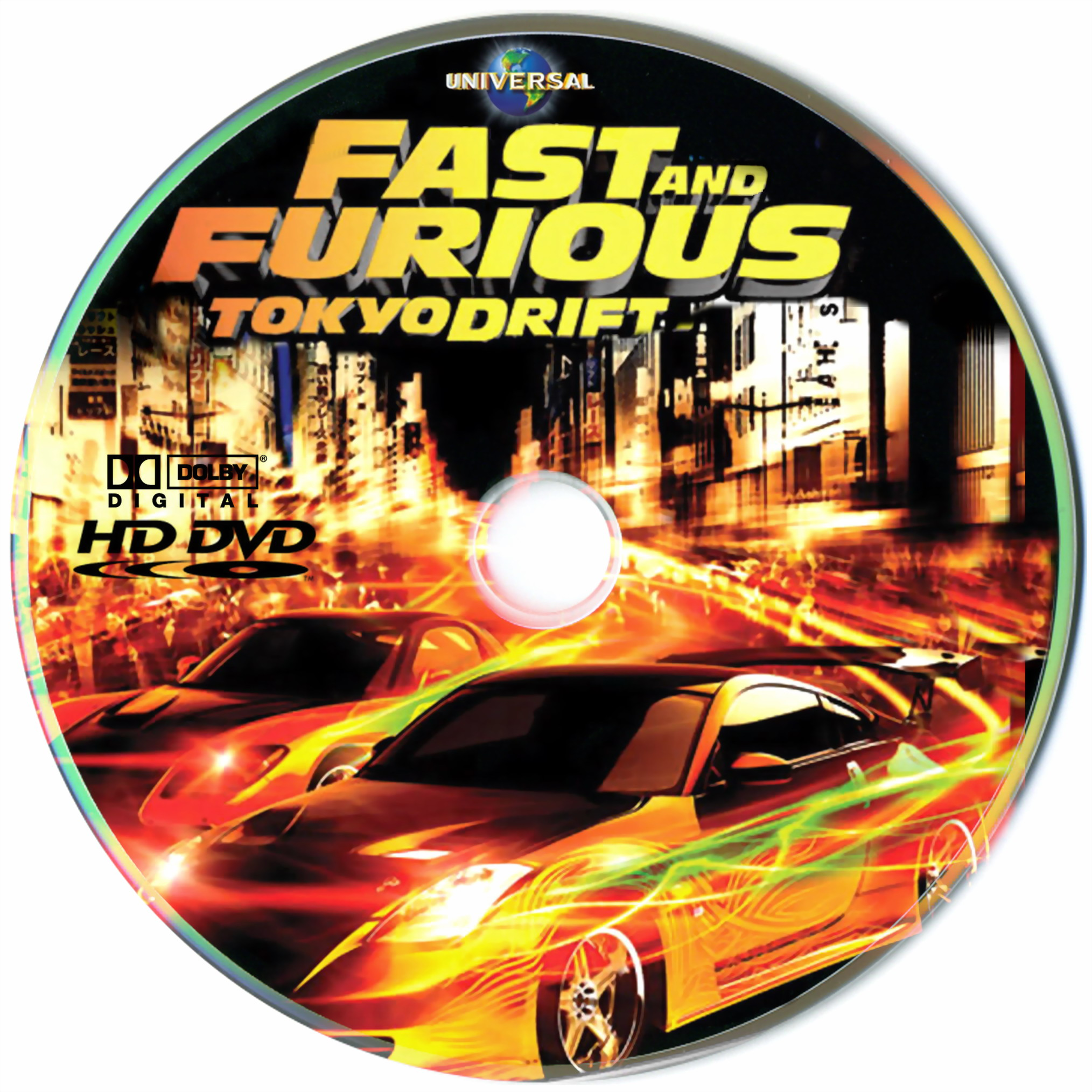 Fast And Furious 3 Full Movie >> Covers Box Sk Fast And Furious Tokyo Drift High Quality Dvd