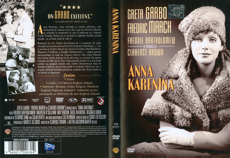 Anna Karenina Cover Anna karenina 1935 front