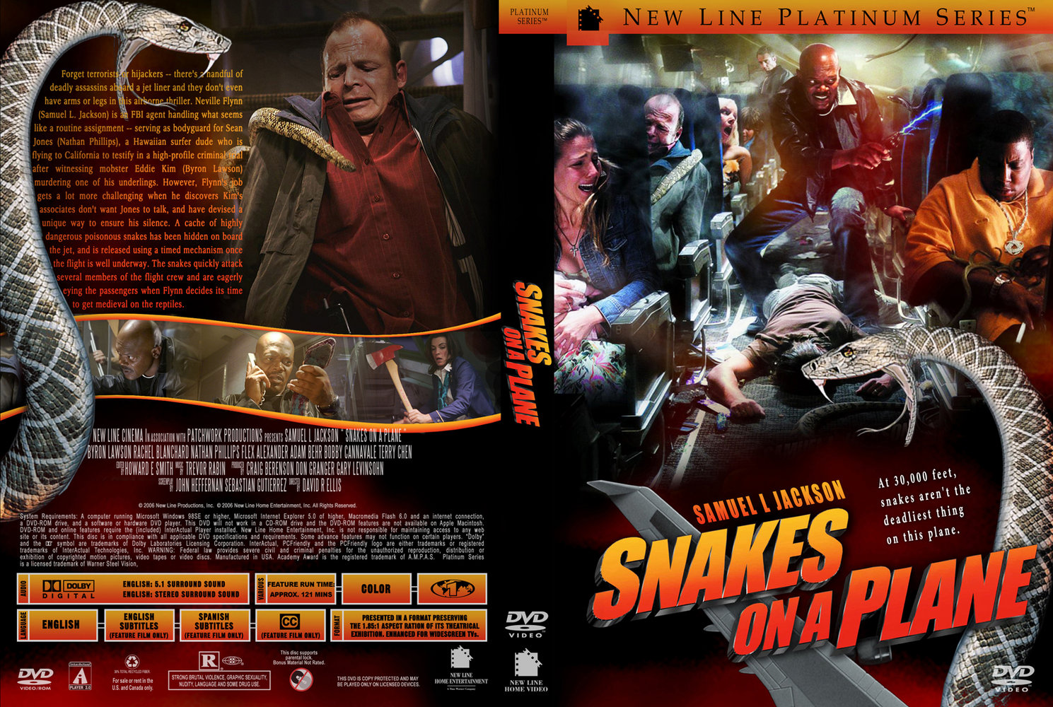 Coversboxsk  Snakes On A Plane - High Quality Dvd  Blueray  Movie-2587