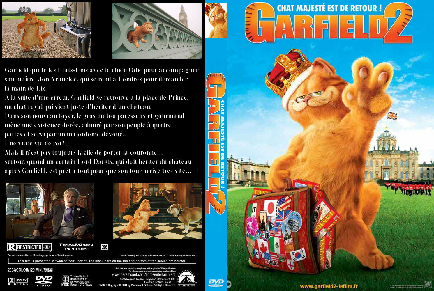 Covers Box Sk Garfield 2 2006 High Quality Dvd Blueray Movie