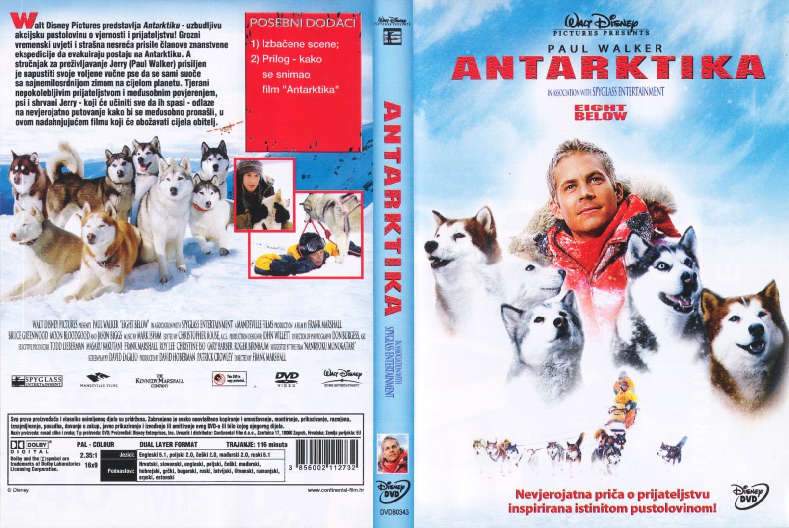 Eight Below Front Back