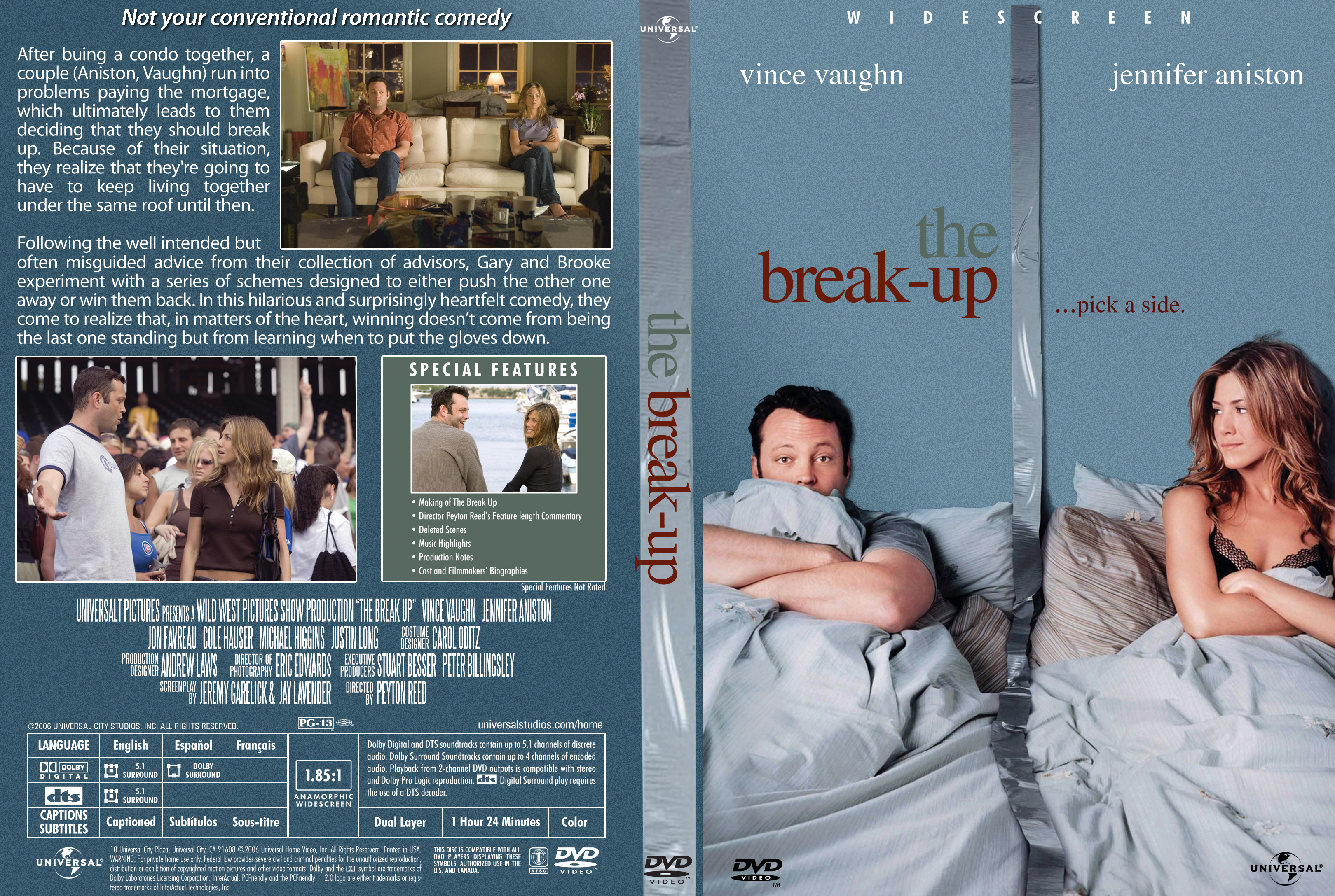 Covers Box Sk Break Up 2006 High Quality Dvd Blueray Movie