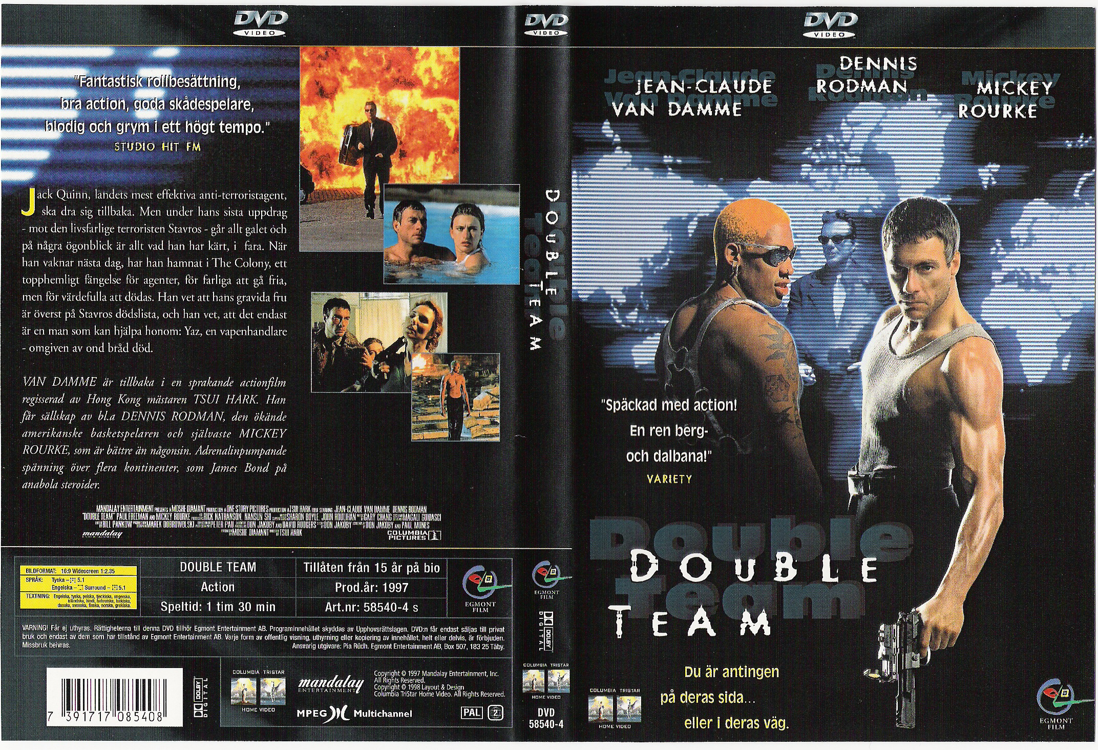 double team full movie 1997