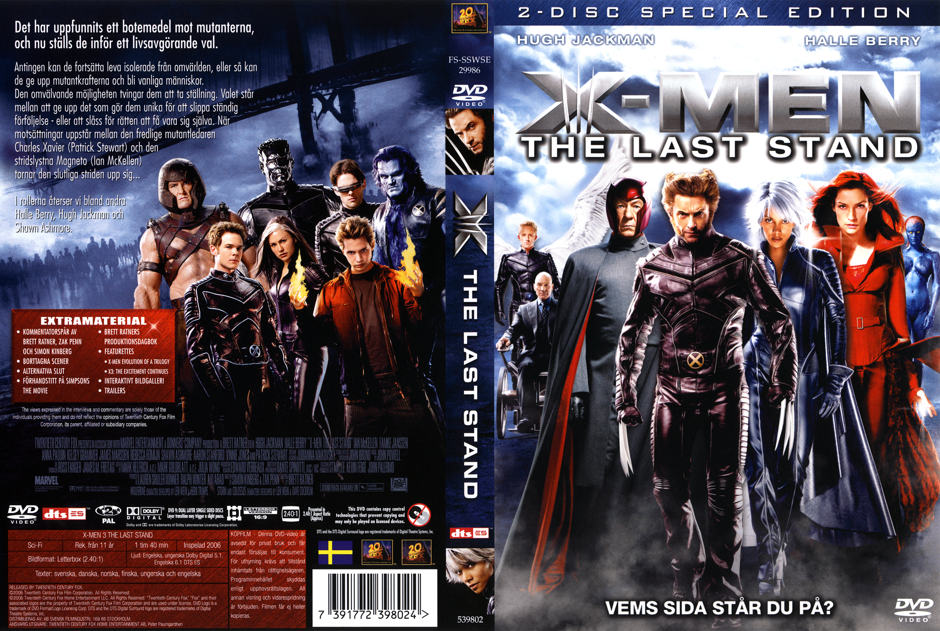 X Men Dvd Cover: COVERS.BOX.SK ::: X-Men 3