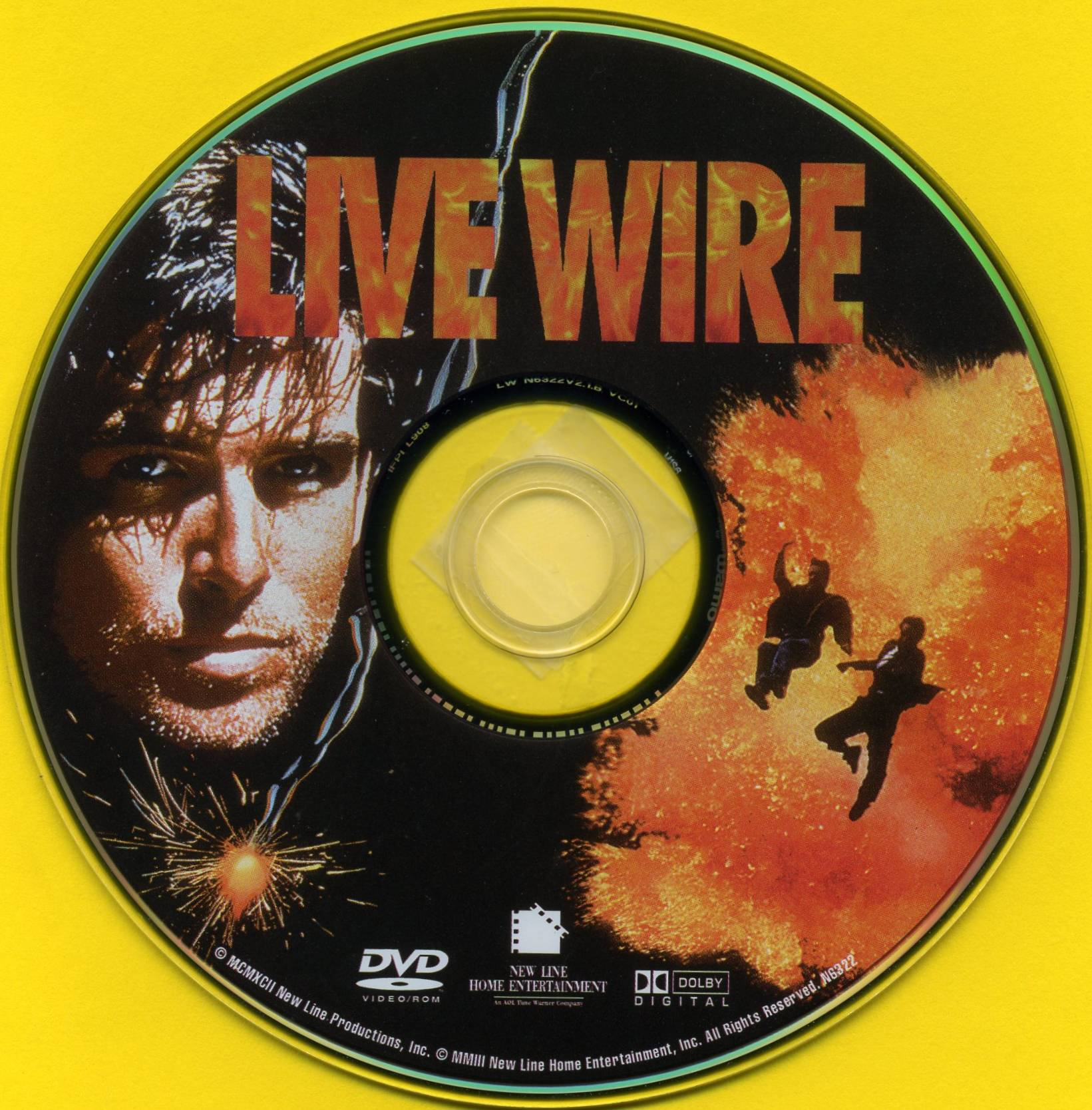 COVERS BOX SK ::: Live Wire (1992) - high quality DVD / Blueray / Movie