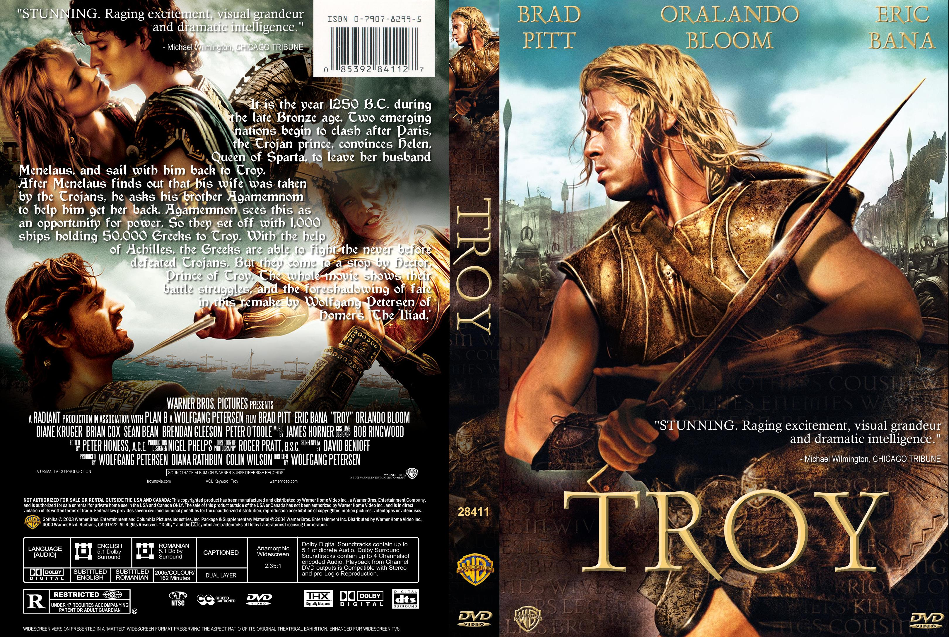 troy dvd italiano  COVERS.BOX.SK ::: Troy (2004) - high quality DVD / Blueray / Movie