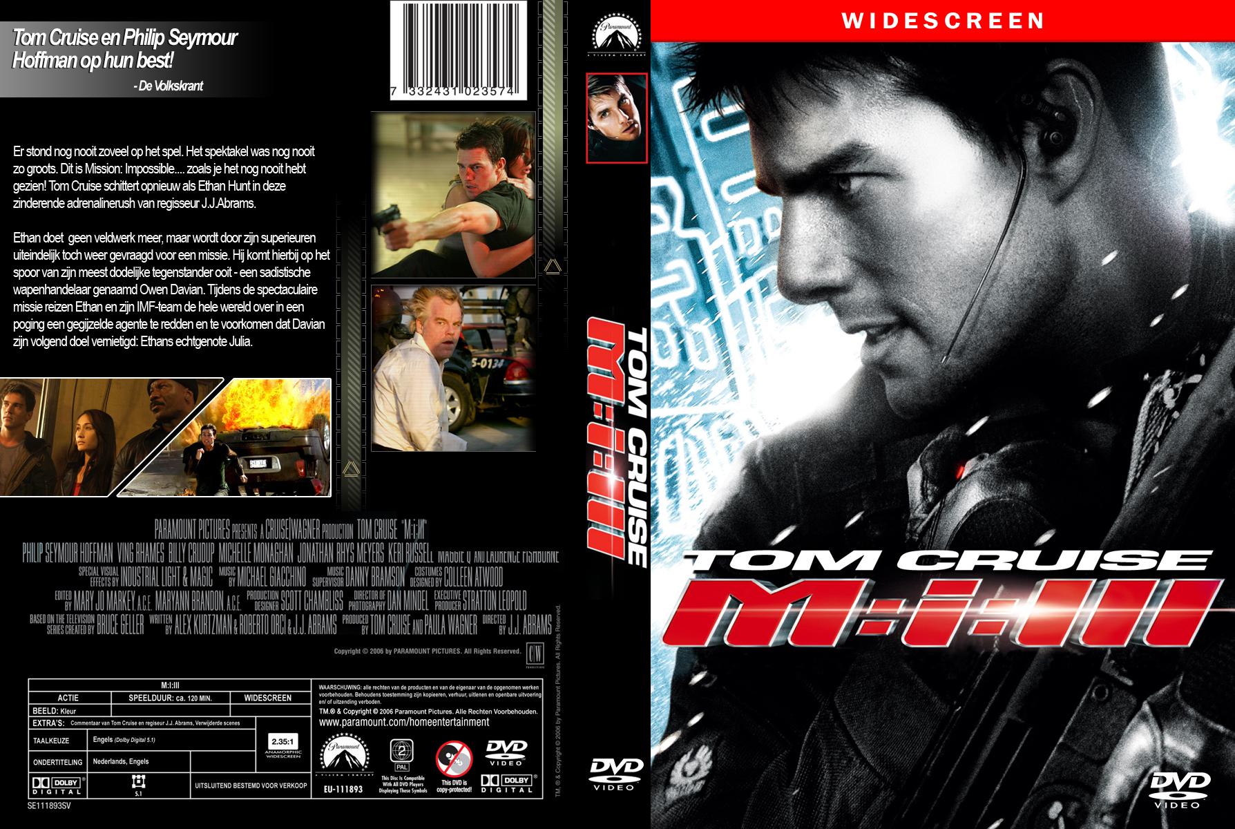 COVERS.BOX.SK ::: Mission: Impossible III - high quality DVD ...