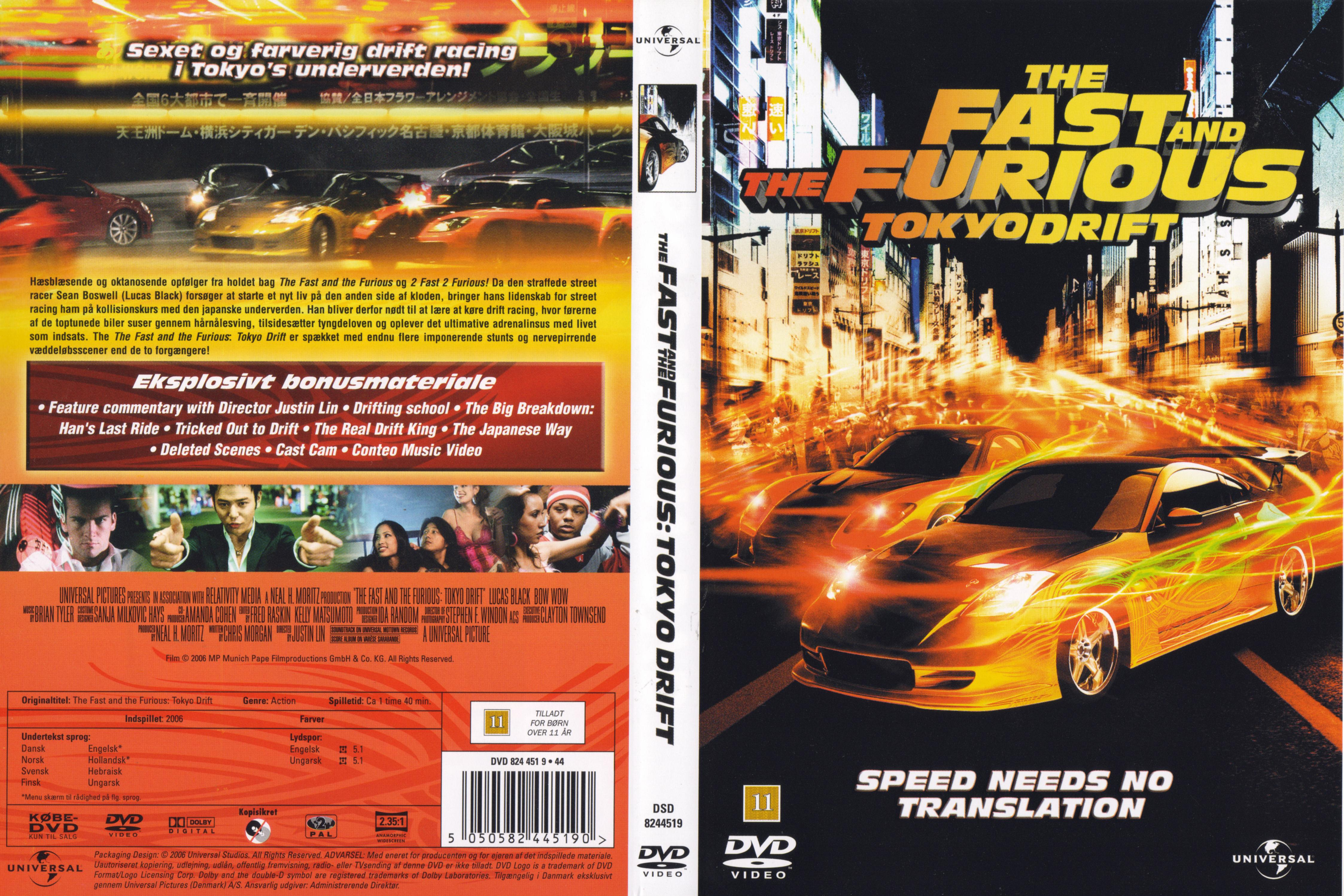 Fast And Furious 3 Full Movie >> Covers Box Sk The Fast And The Furious Tokyo Drift Cover High
