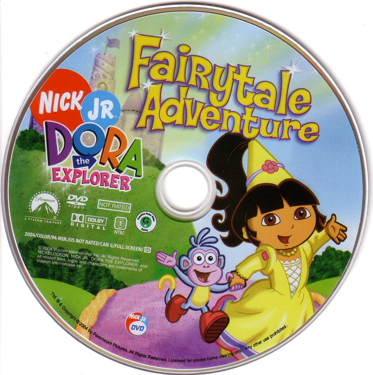 COVERS.BOX.SK ::: Dora The Explorer Fairytale Adventure