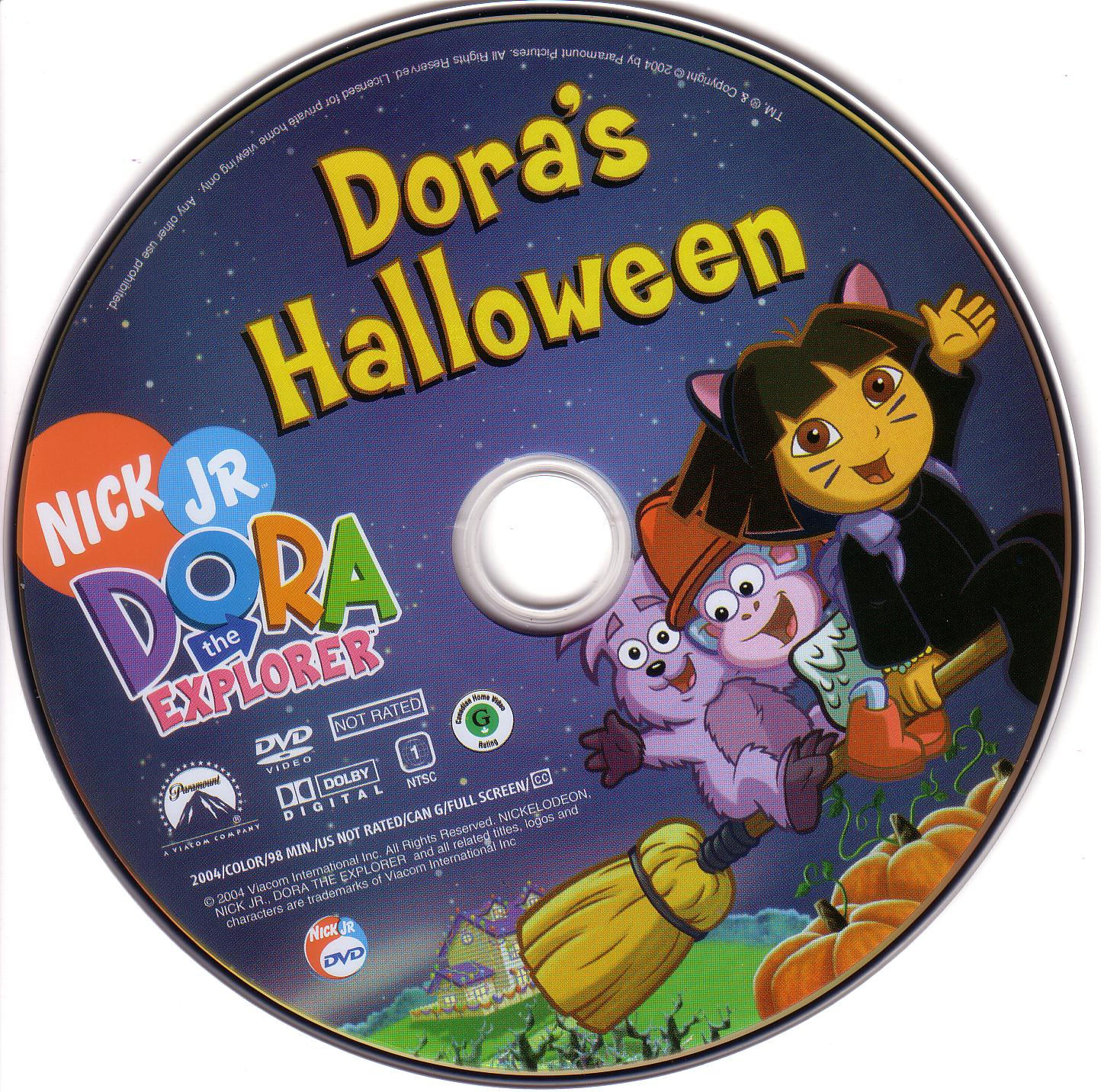 covers.box.sk ::: dora the explorer halloween - high quality dvd