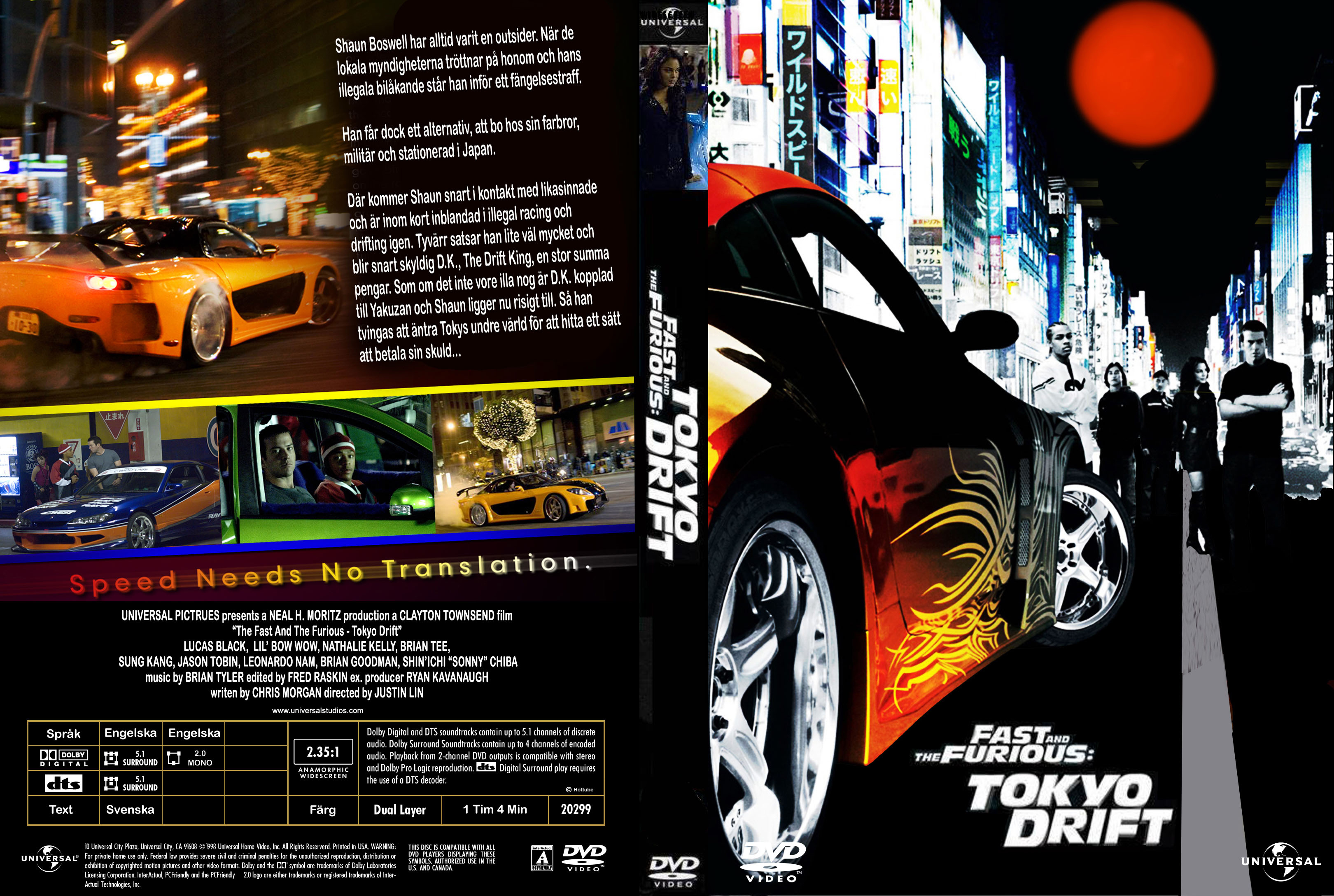 Fast And Furious 3 Full Movie >> Covers Box Sk The Fast And The Furious Tokyo Drift High