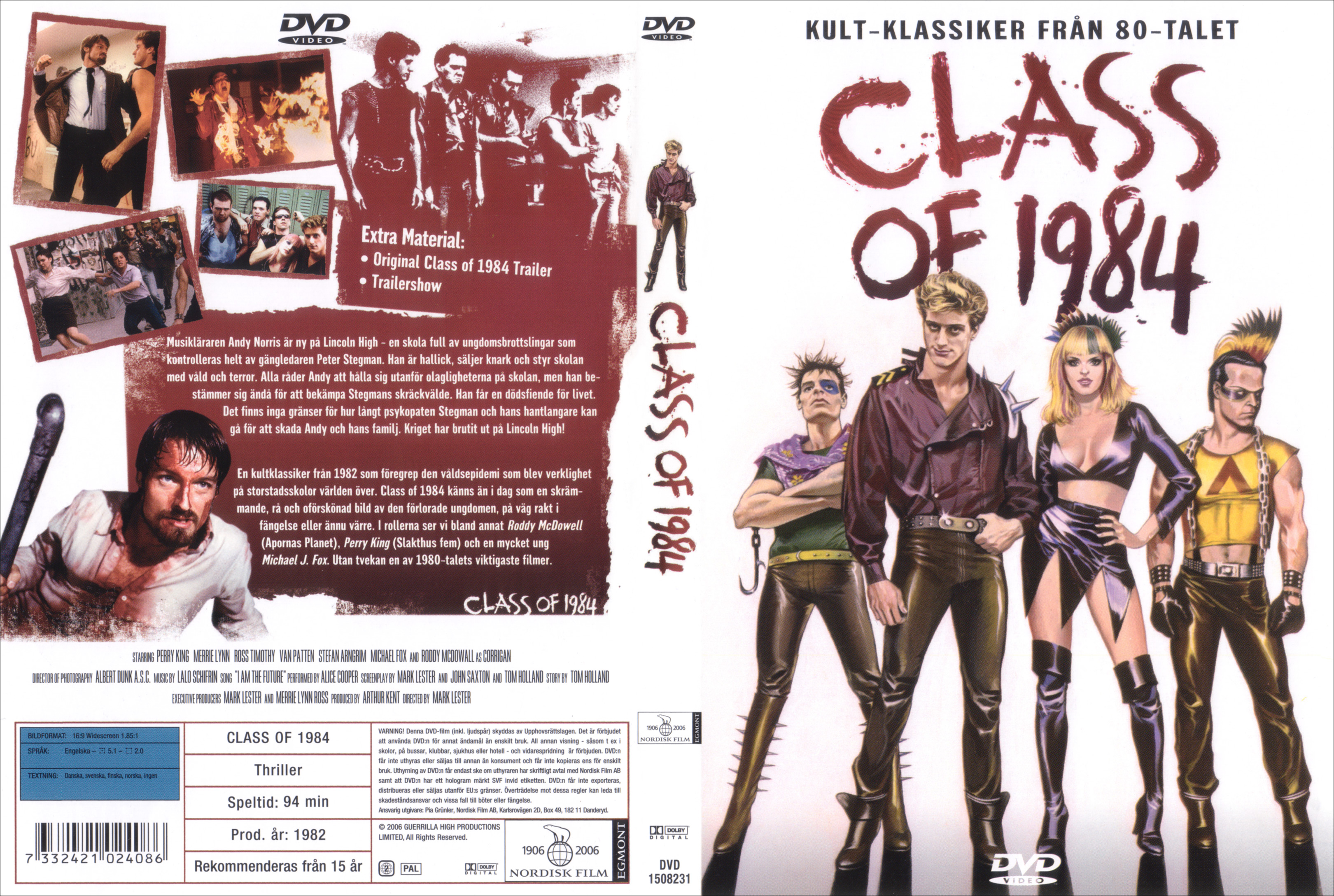 The class of 1984 full movie