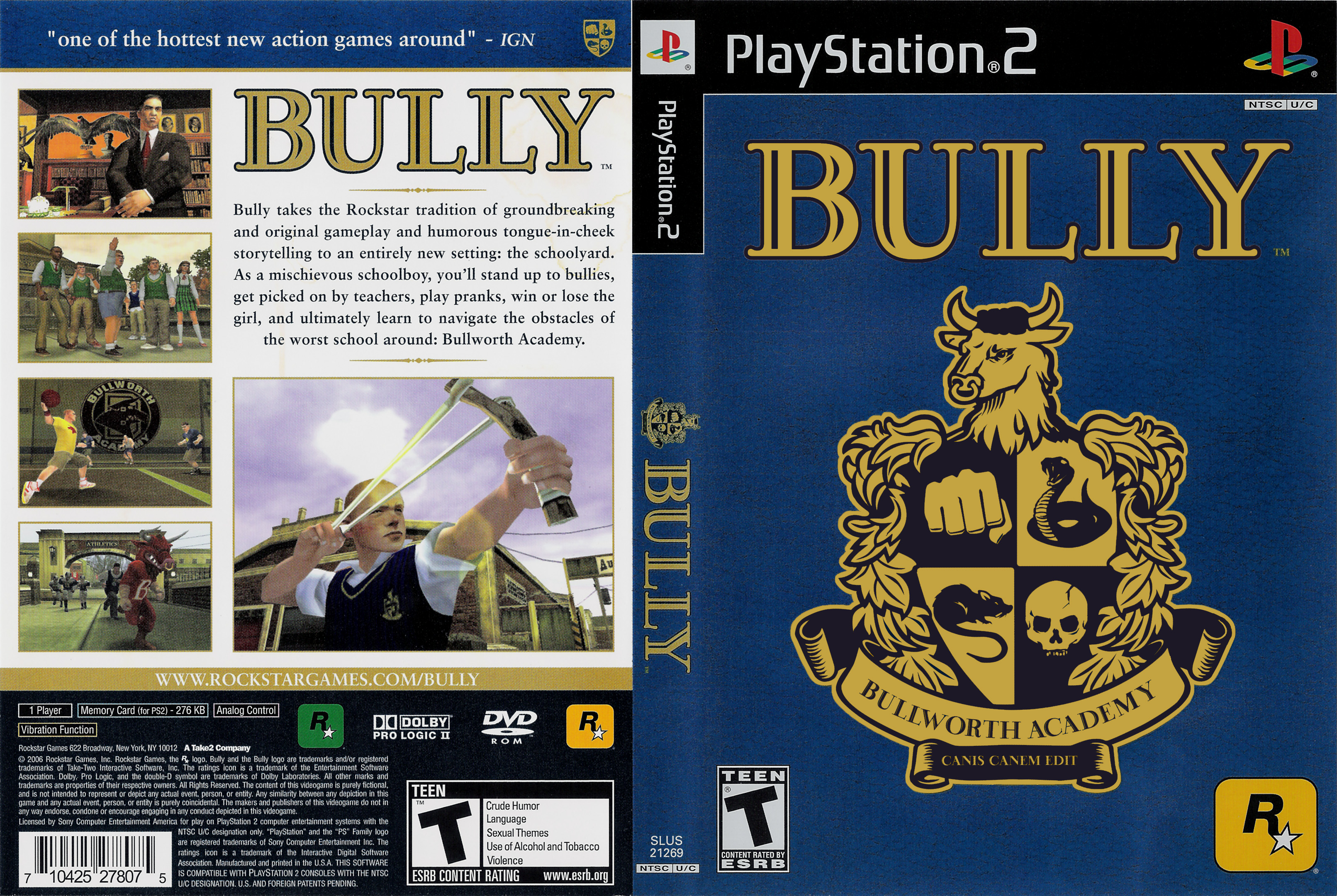 Download Game Bully High Compressed