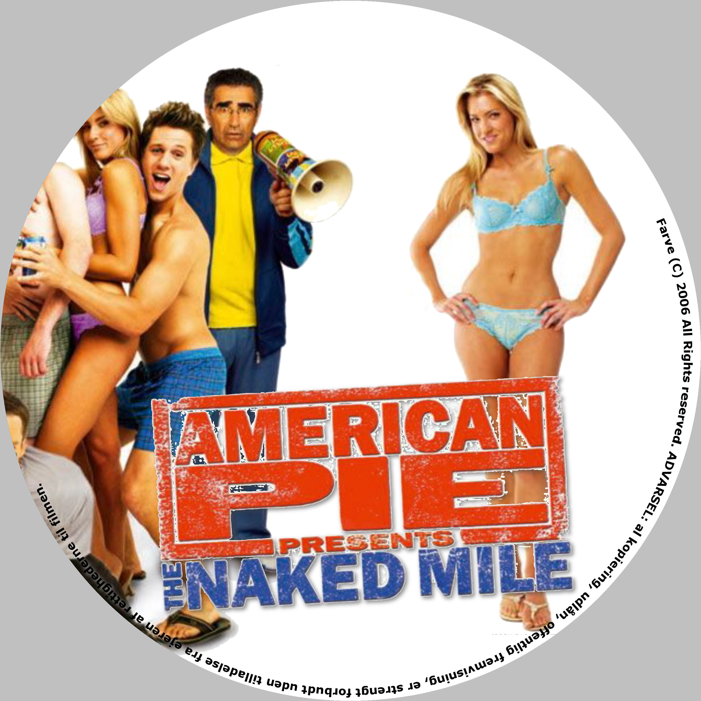 American the naked mile