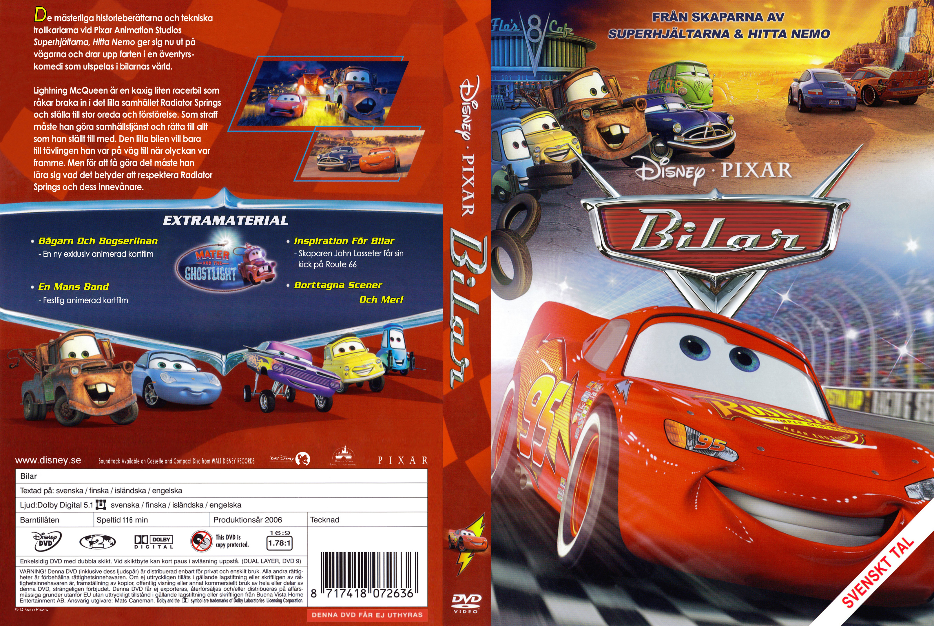 Covers Box Sk Cars 2006 High Quality Dvd Blueray Movie