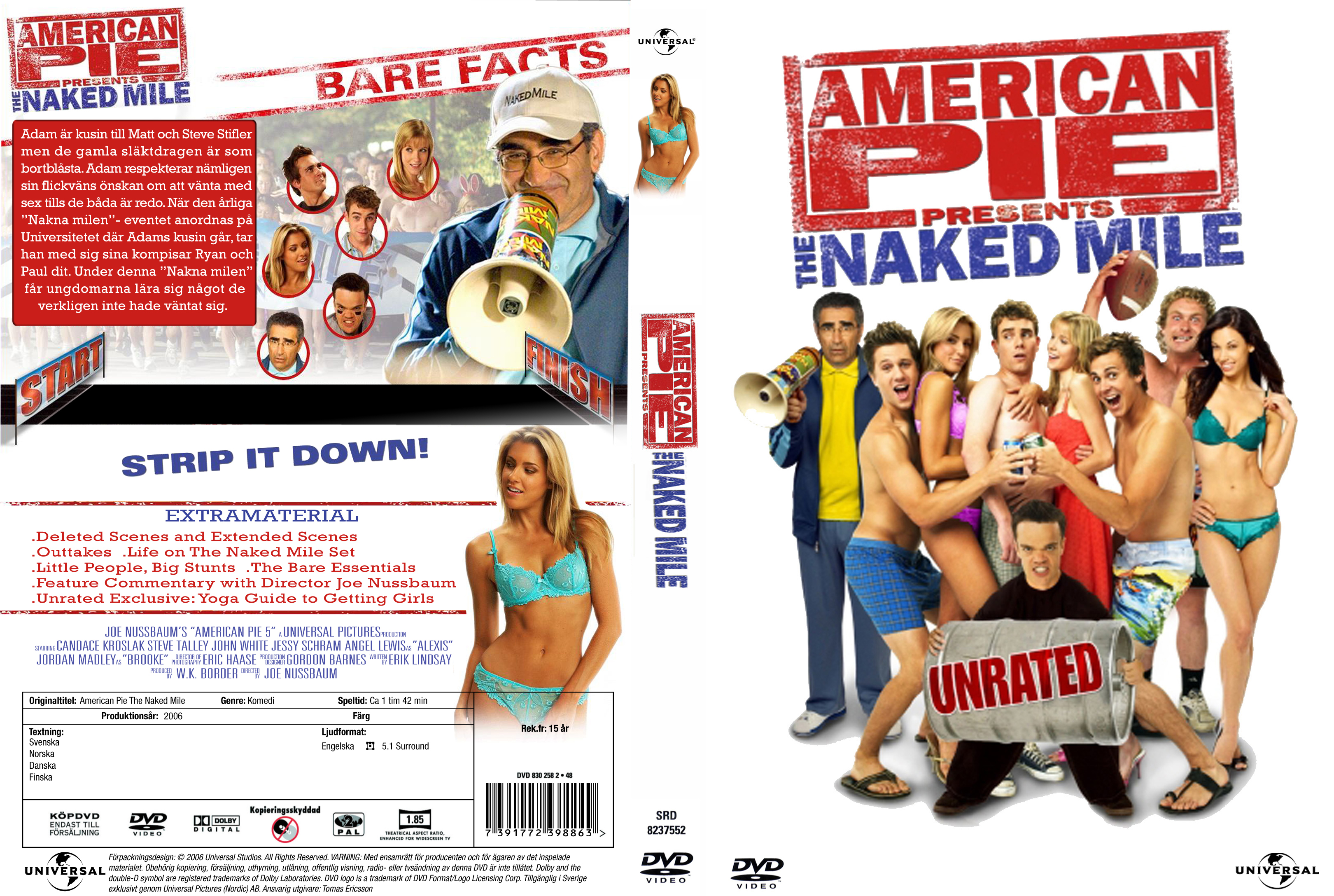 American pie the naked mile cover