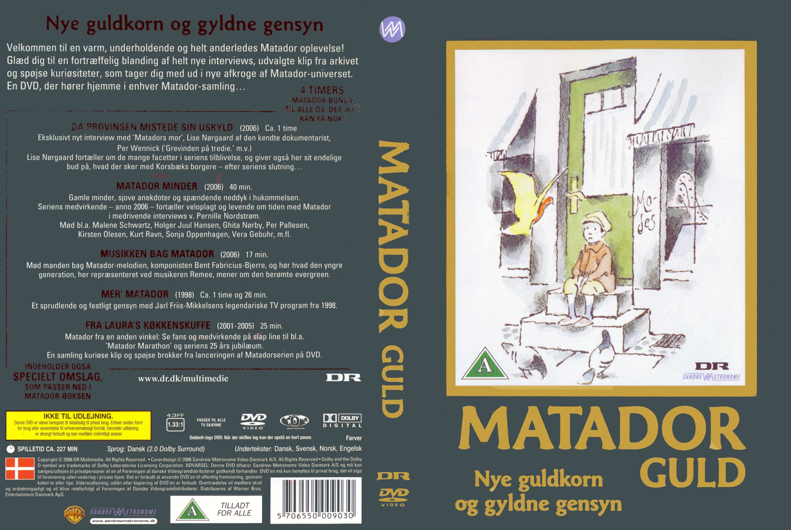 Velsete COVERS.BOX.SK ::: Matador Guld - high quality DVD / Blueray / Movie JA-84