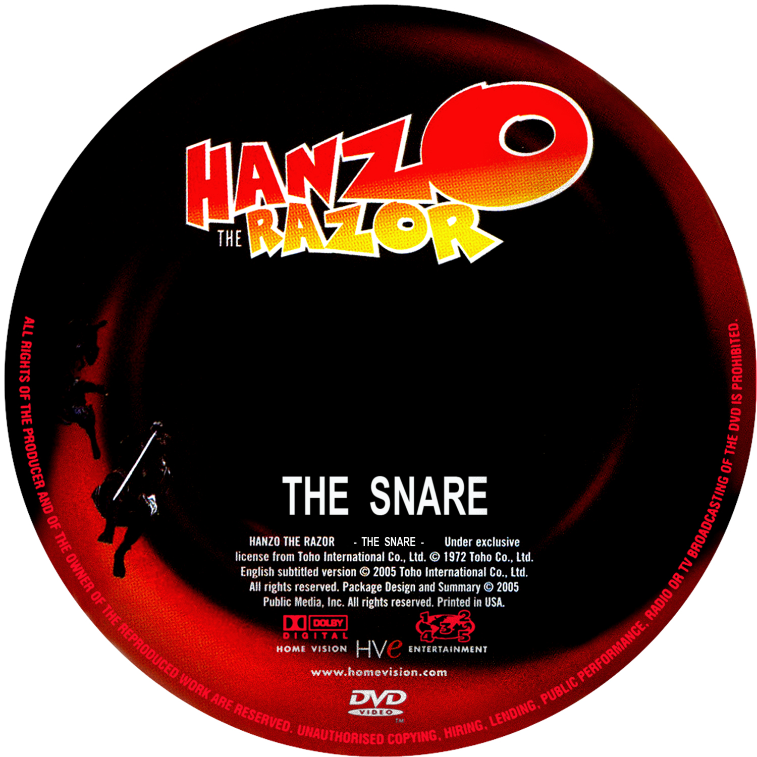 Hanzo the razor the snare